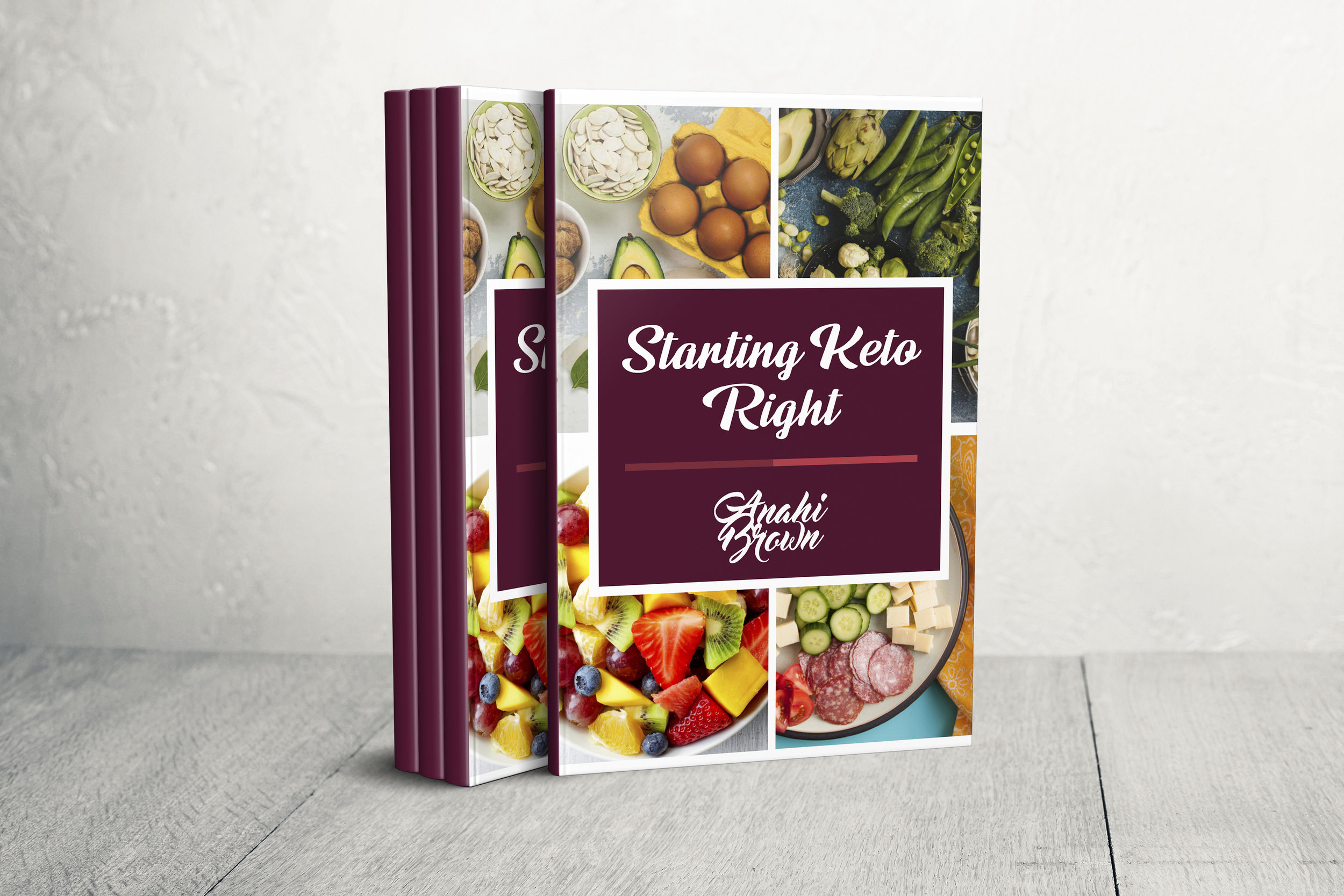 Keto 101 - Starting Keto Right! Bundle - Your Keto Coach as a book and Masterclass, so you can get the tips and info you want and deserve to start your Ketogenic journey on the best terms, empowered and inspired.Includes basic information about keto, how to troubleshoot it successfully, what to do when we struggle and what to eat to thrive on it… Plus, 3 bonus recipes!
