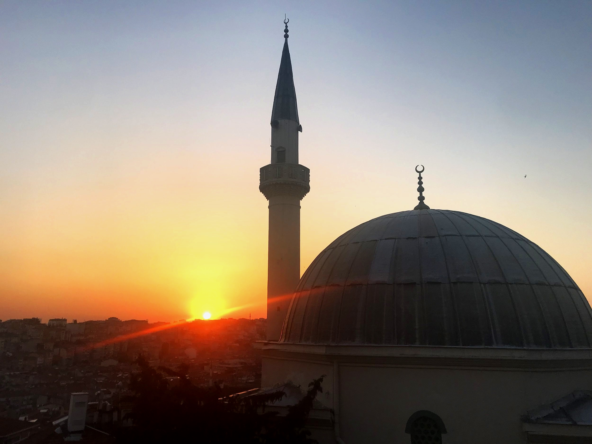 Our final sunset in Istanbul, which coincide with the end of the Holy Month of Ramadan this year!
