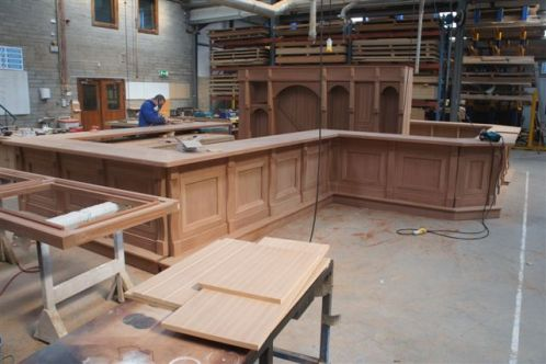 GGD Global Irish Pub Designers - Custom Irish wooden bar