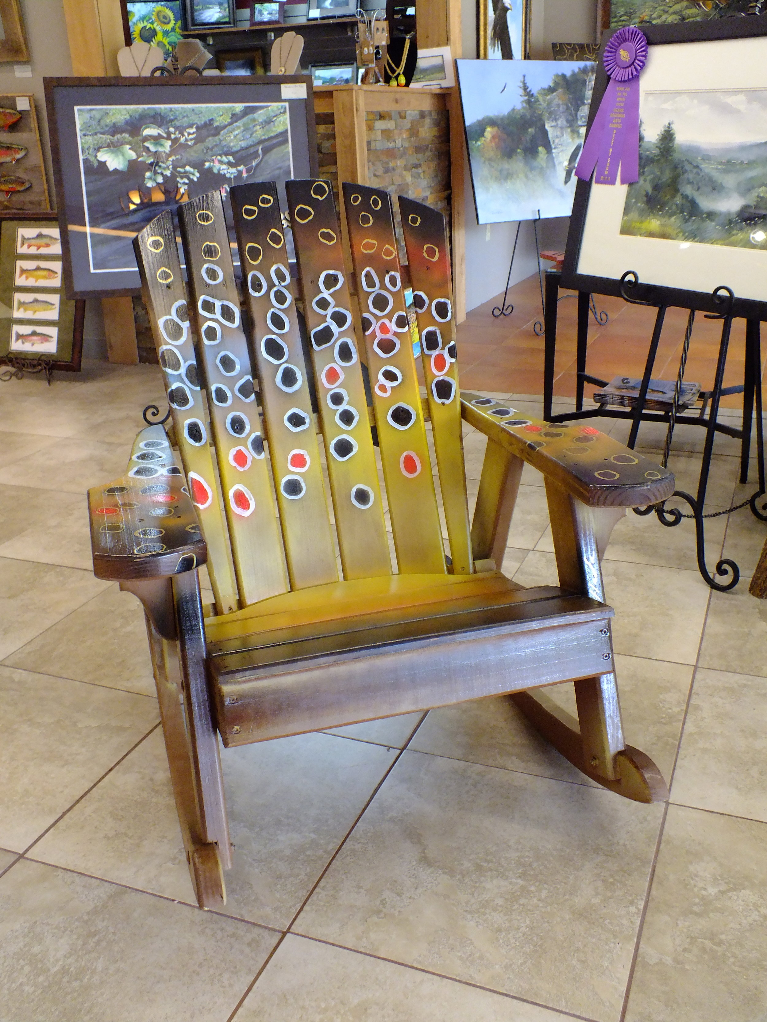 Fathers Day Chair Front  $350.00