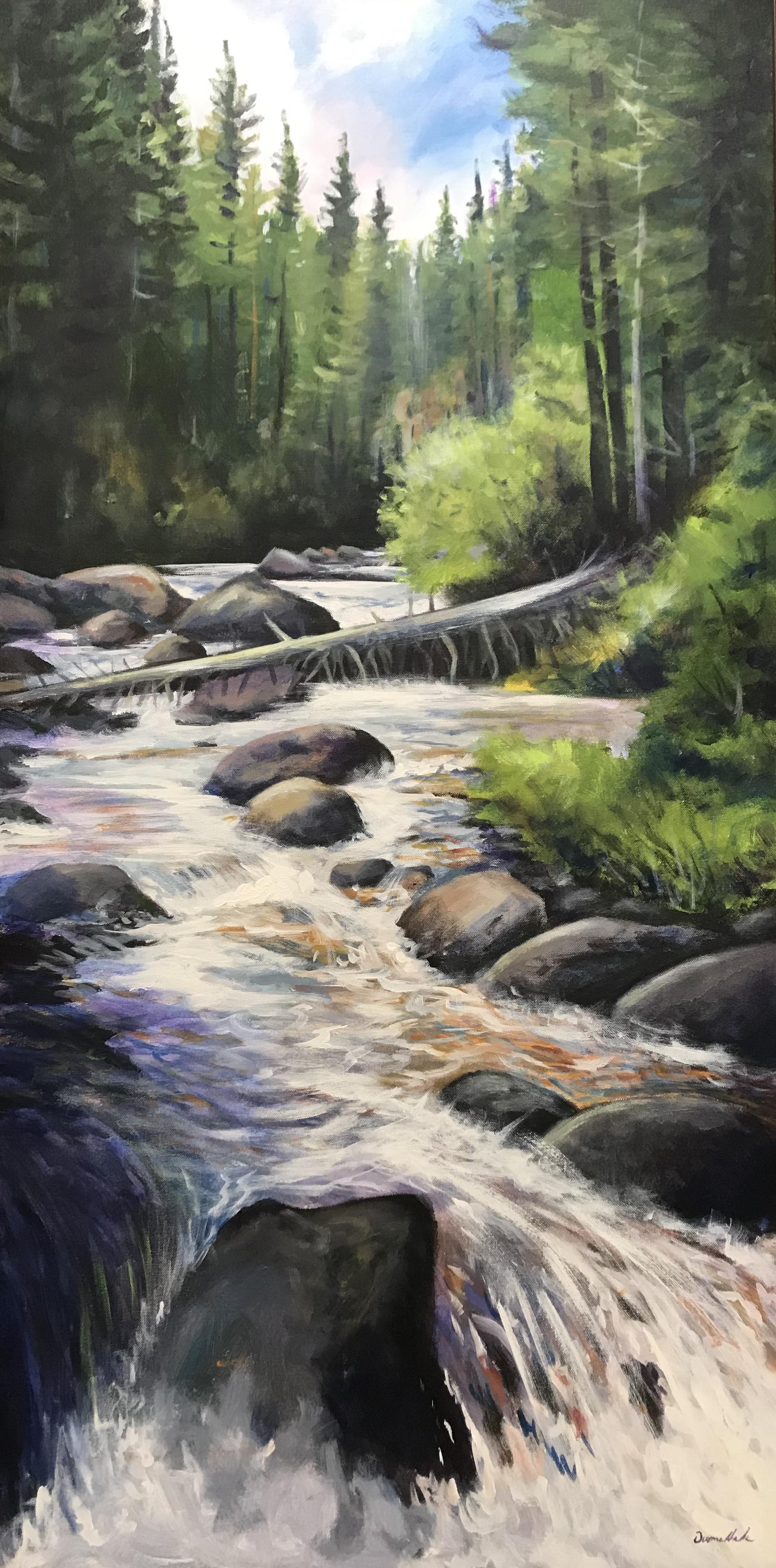 Cold Rush - Acrylic24 x 48$2900.00