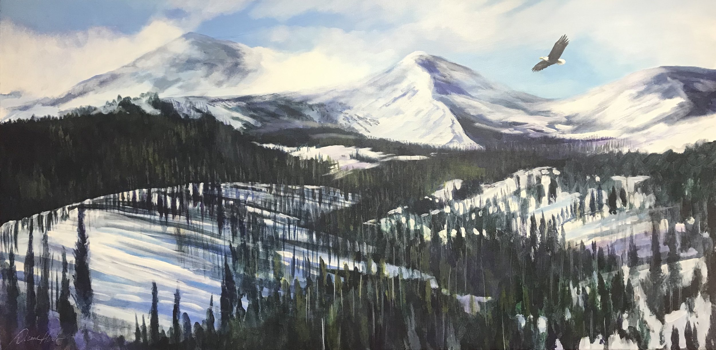 Brenkenridge - Acrylic24 x 48$3456.00
