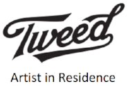 Click  to read about Ezra being Tweed's inaugural Artist-in-Residence at Tweed.