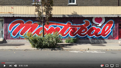 "Click image to watch ""The Walls of Montreal"""