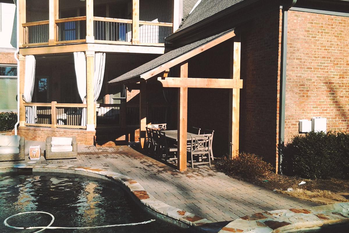 attached pavilion