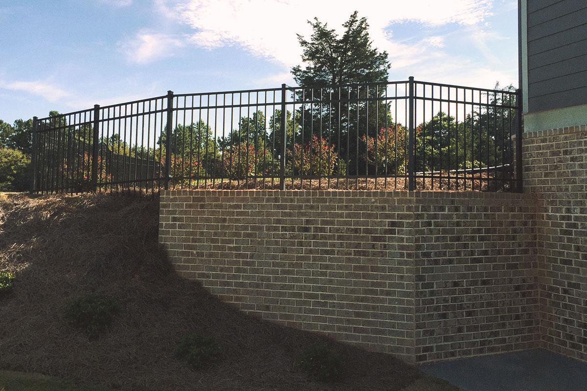 3-rail flat top, wall installation