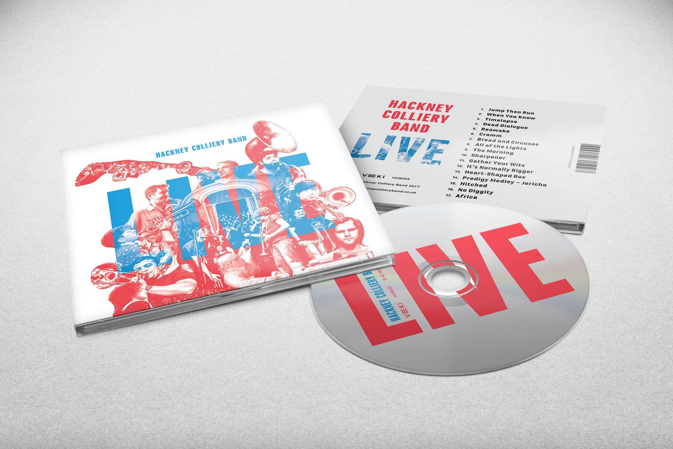 Live album mock up