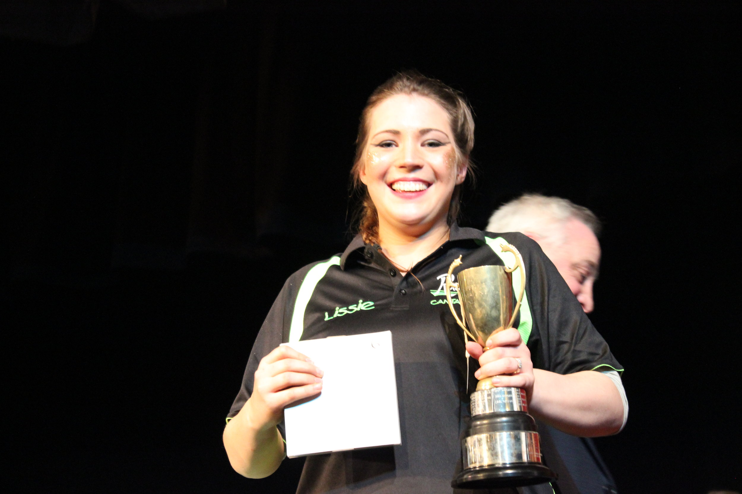 Lisbeth Bowen - Cantal YFC - Blodwen Griffiths Cup - Best Female ndividual Performance