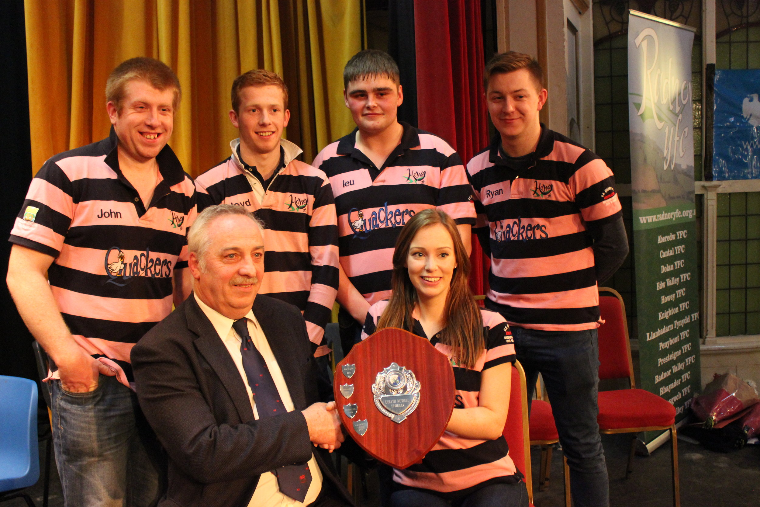 Howey YFC - Winners of the Time to Shine Competition