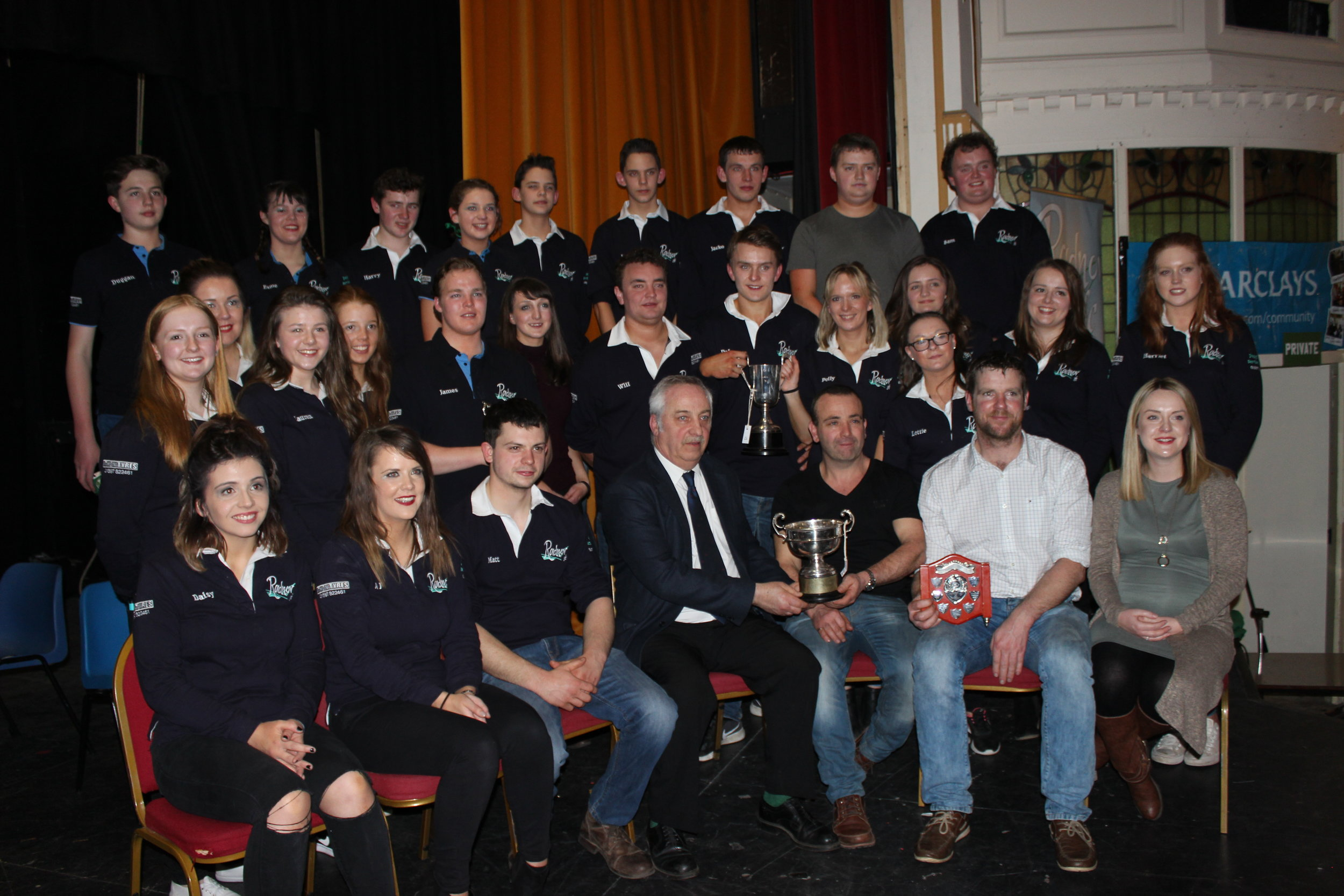 Penybont YFC - Winners of the Entertainment Competition