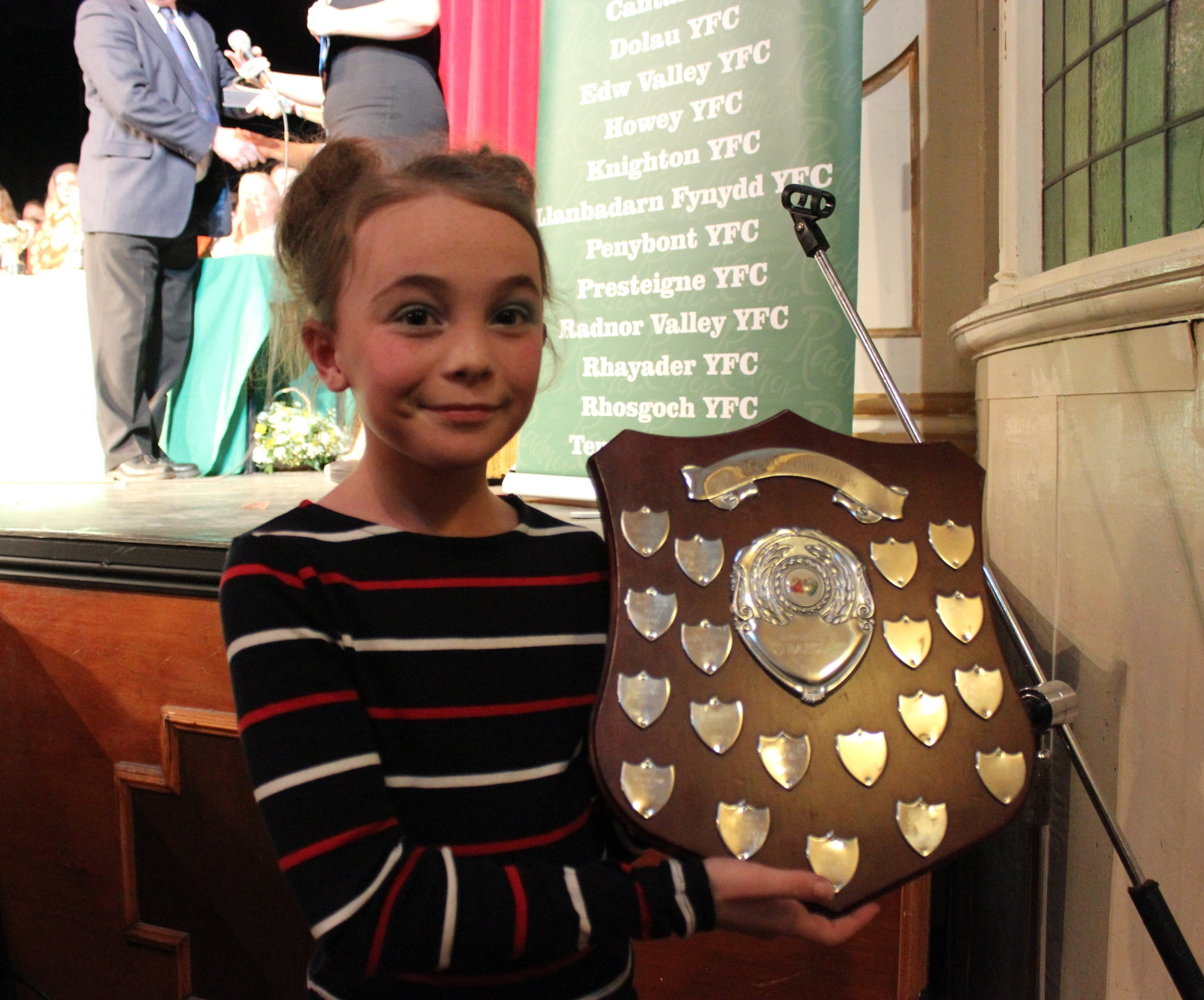 Evie Hammonds - Edw Valley YFC Barclays Bank Shield - Winners of the One Plus Competition