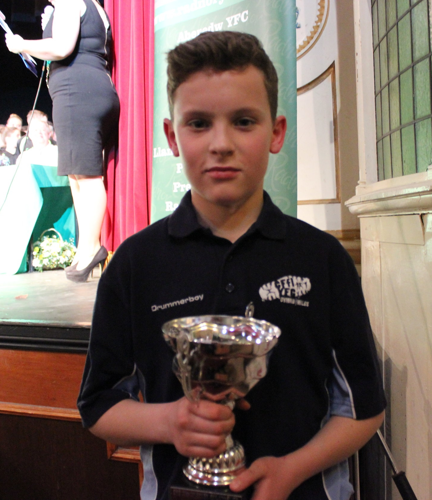 Eifion Davies - Rhayader YFC 'Best Individual performance in the One Plus Competition'