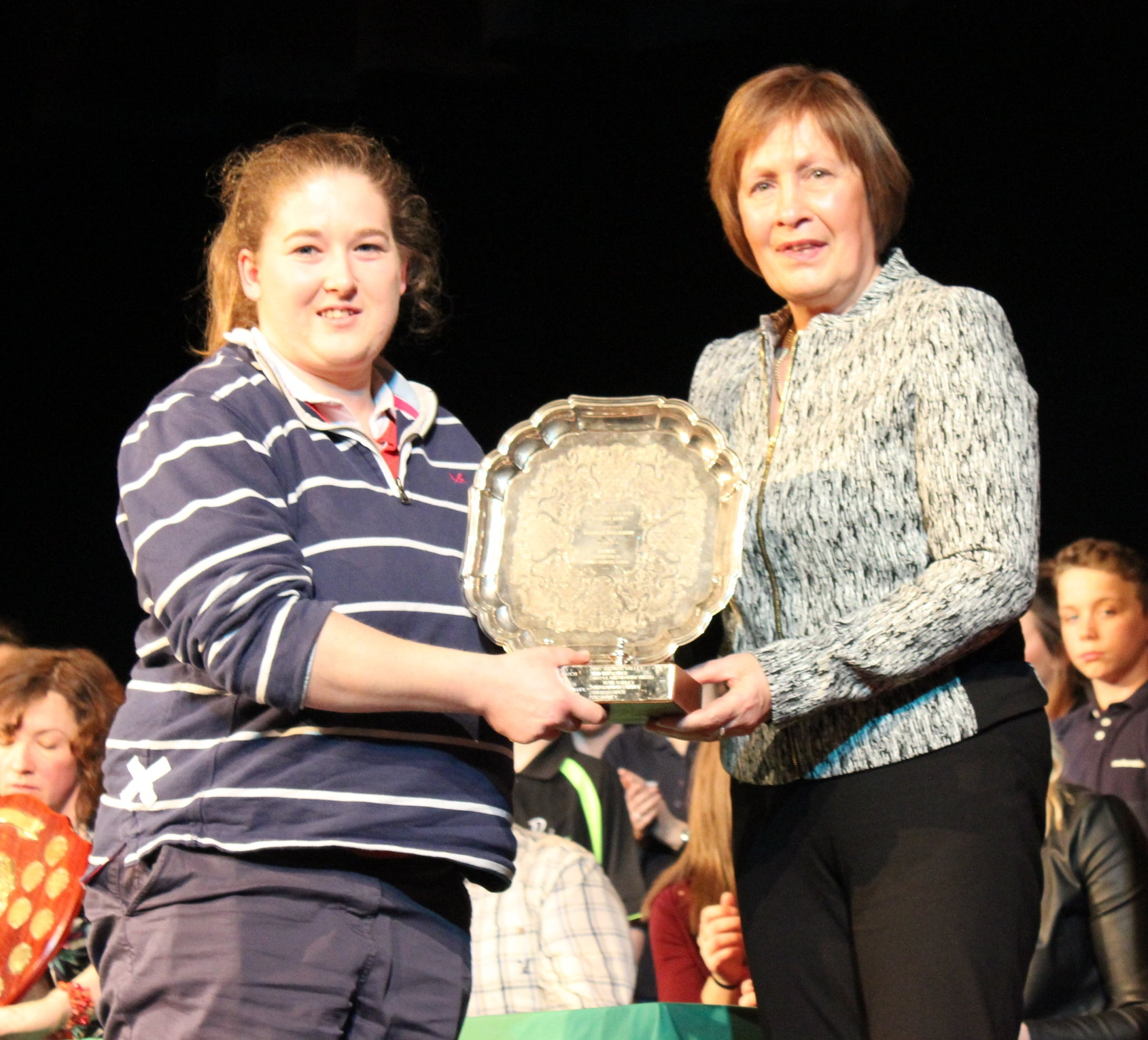 Kim Barnett - Teme Valley YFC - Paul Elkington Trophy for Technical Merit