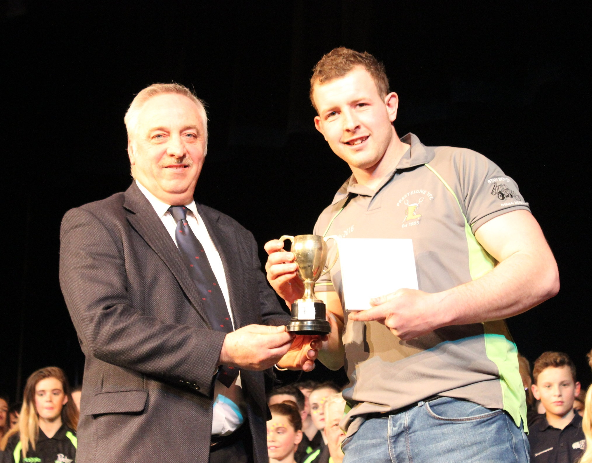 Owen Davies - Presteigne YFC - Mr & Mrs R H Moseley Cup - Best Male Individual Performance