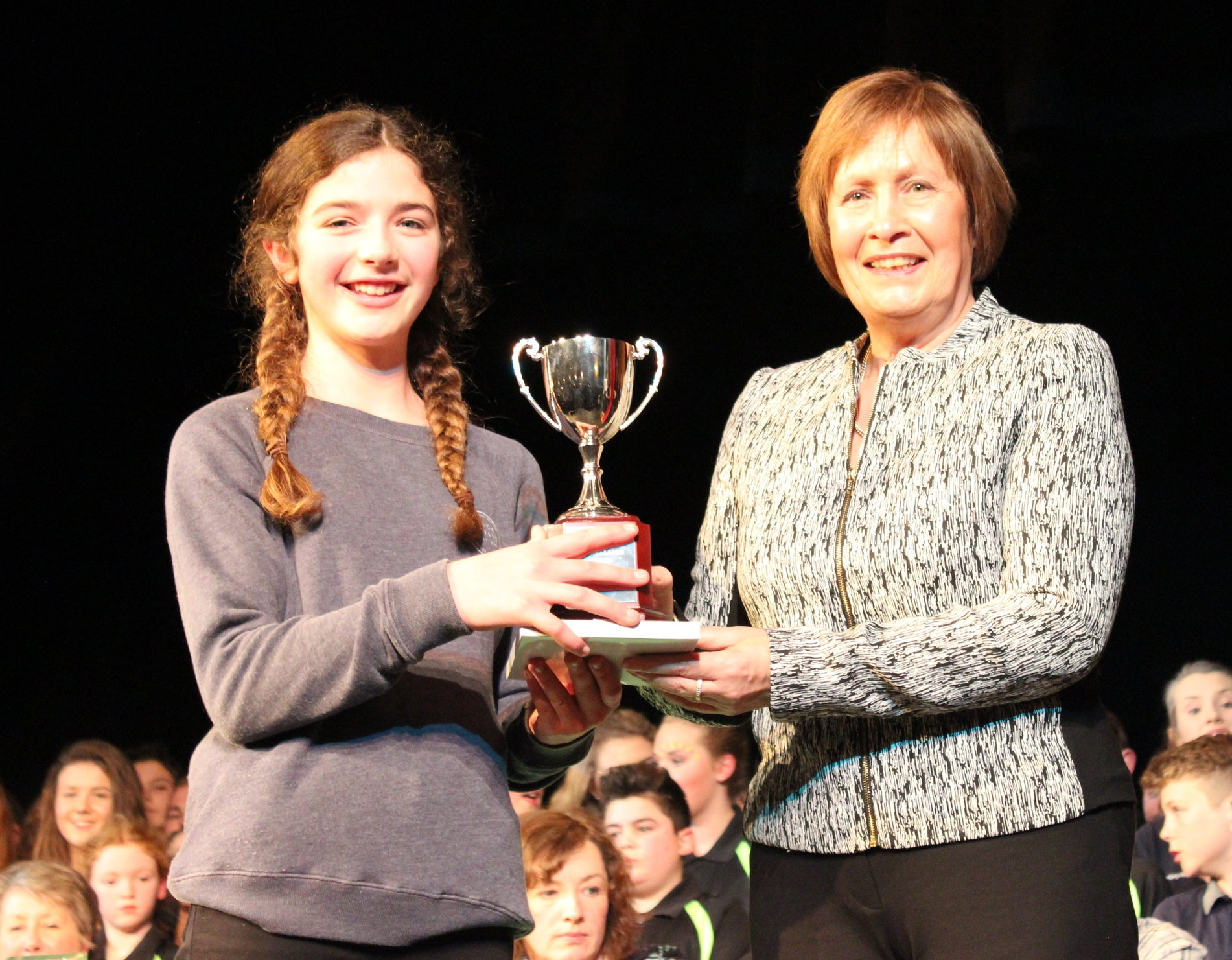 Hannah Jones - Radnor Valley YFC - Ray Cadwallader Award - Best Actress 13 & Under