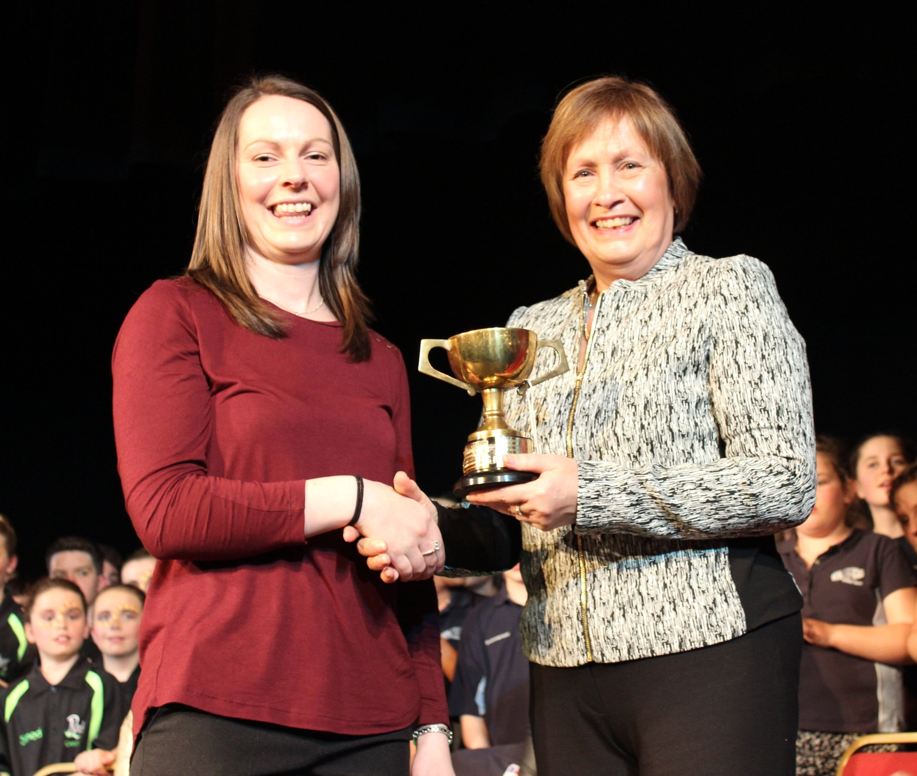 Gwen Samuel - Aberedw YFC - Tom Hooson Cup - Highest Placed Small Club