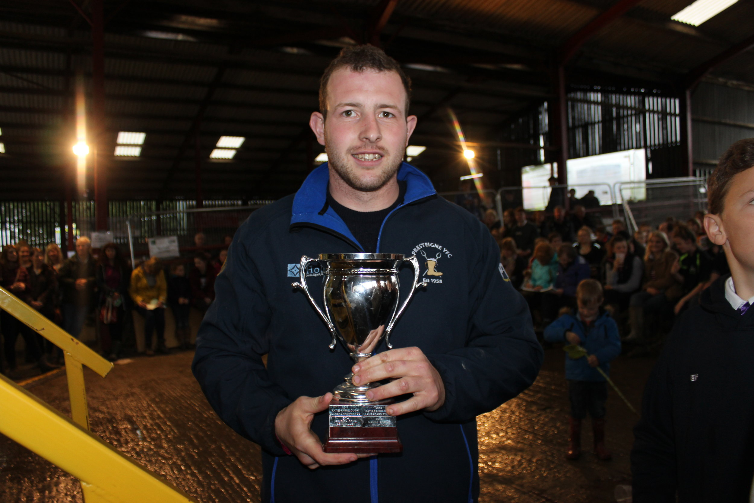 Owen Davies, Presteigne YFC - Andrew & Janet Abberley Cup (Solo Top of the Pops)