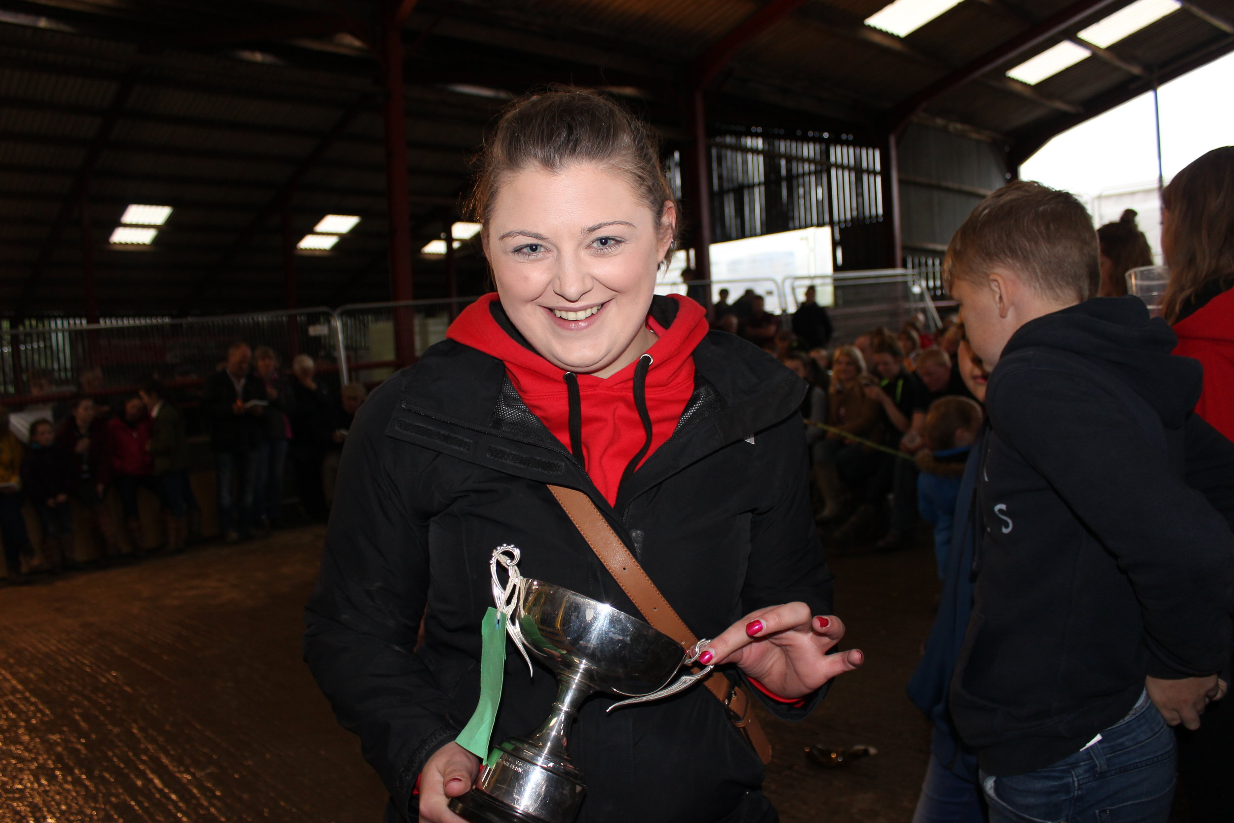 Jess Barrett, Teme Valley YFC - Glenda Lawrence Cup (Pre Rally Promotional Sign)