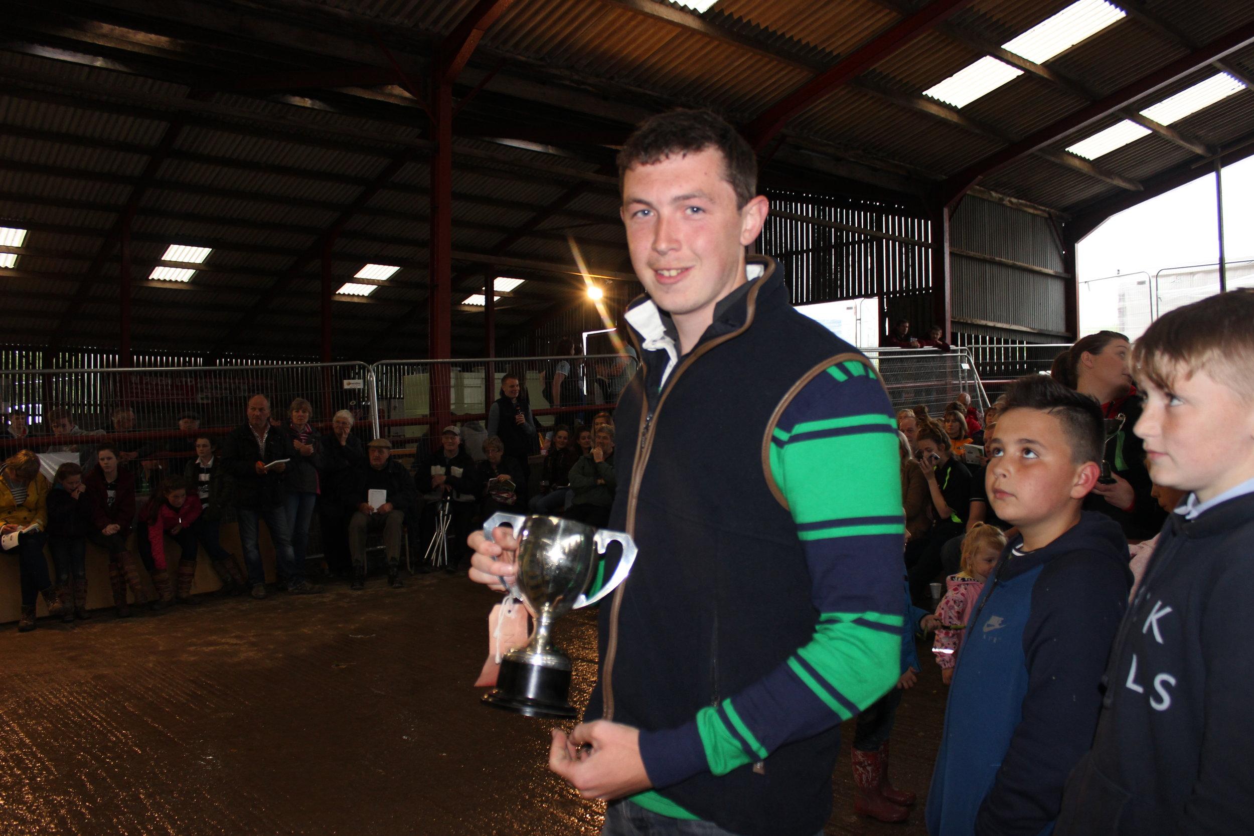 Ben Hardwick, Dolau YFC - John Morris Pritchard Rural Crafts Cup (Woodwork)