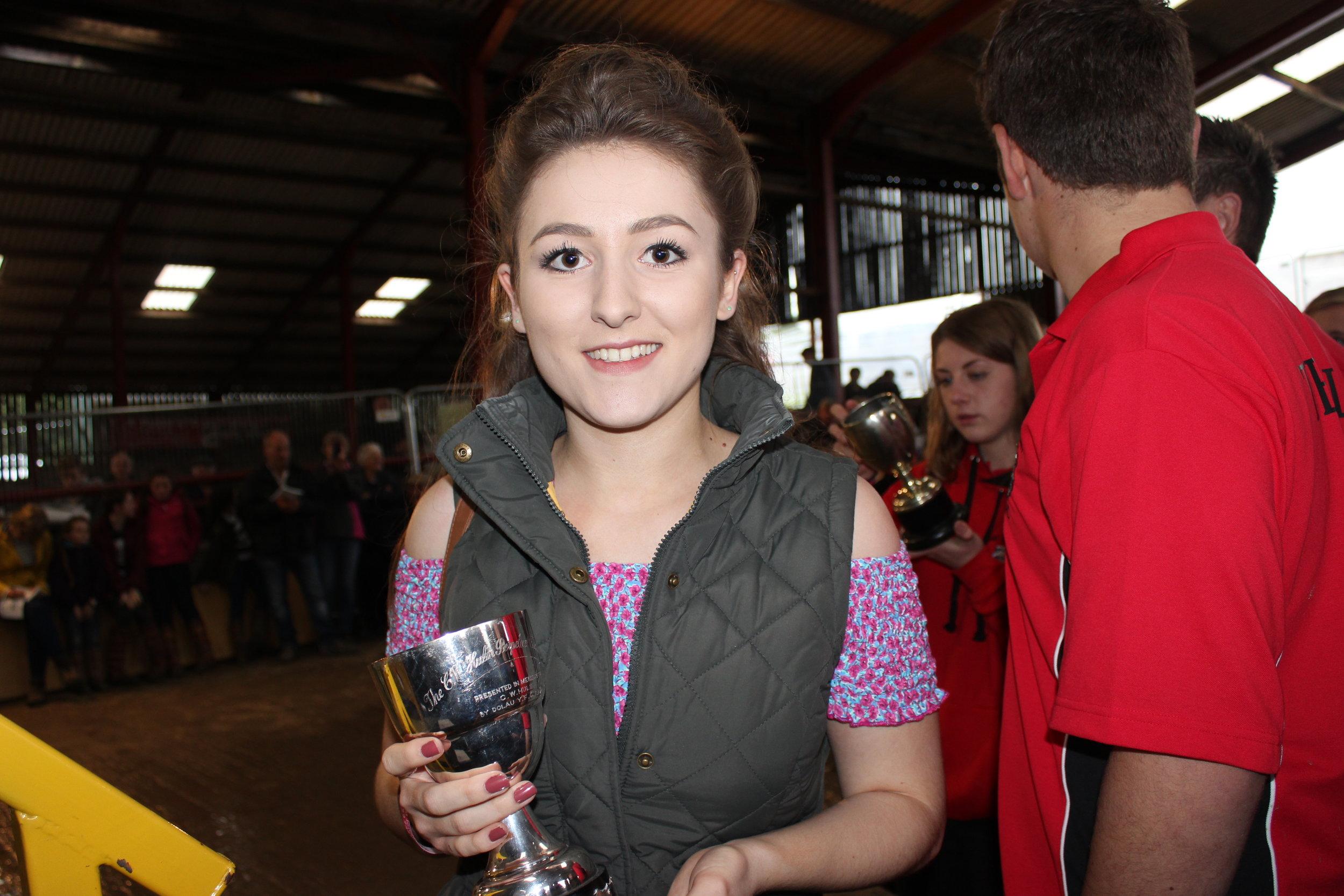 Georgia Lewis, Llanbadarn Fynydd YFC - C W Hulin Cup (Scrapbook)