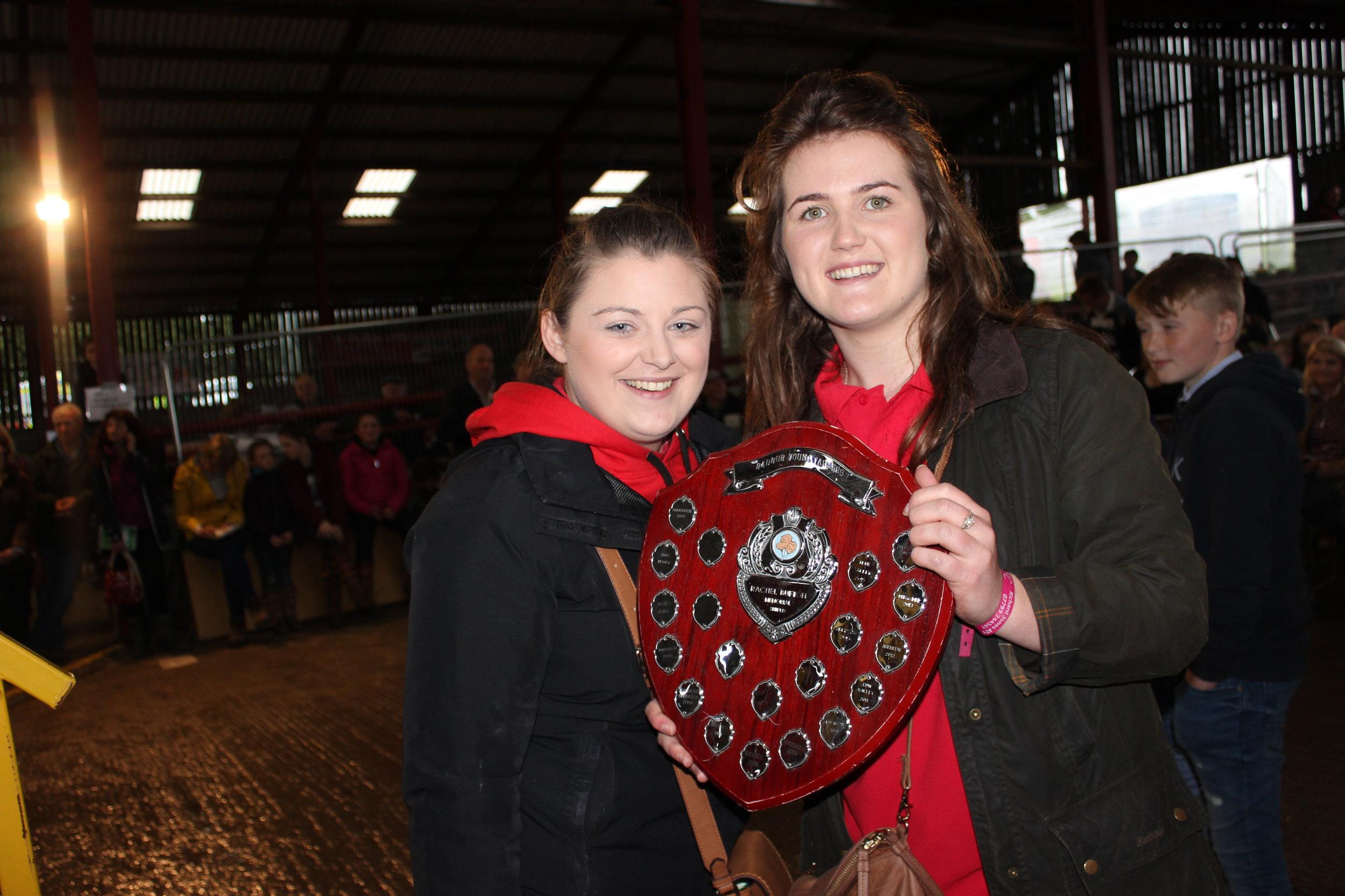 Jess Barrett & Ella Harris, Teme Valley YFC - Rachel Bufton Memorial Shield (Floral Competitions)