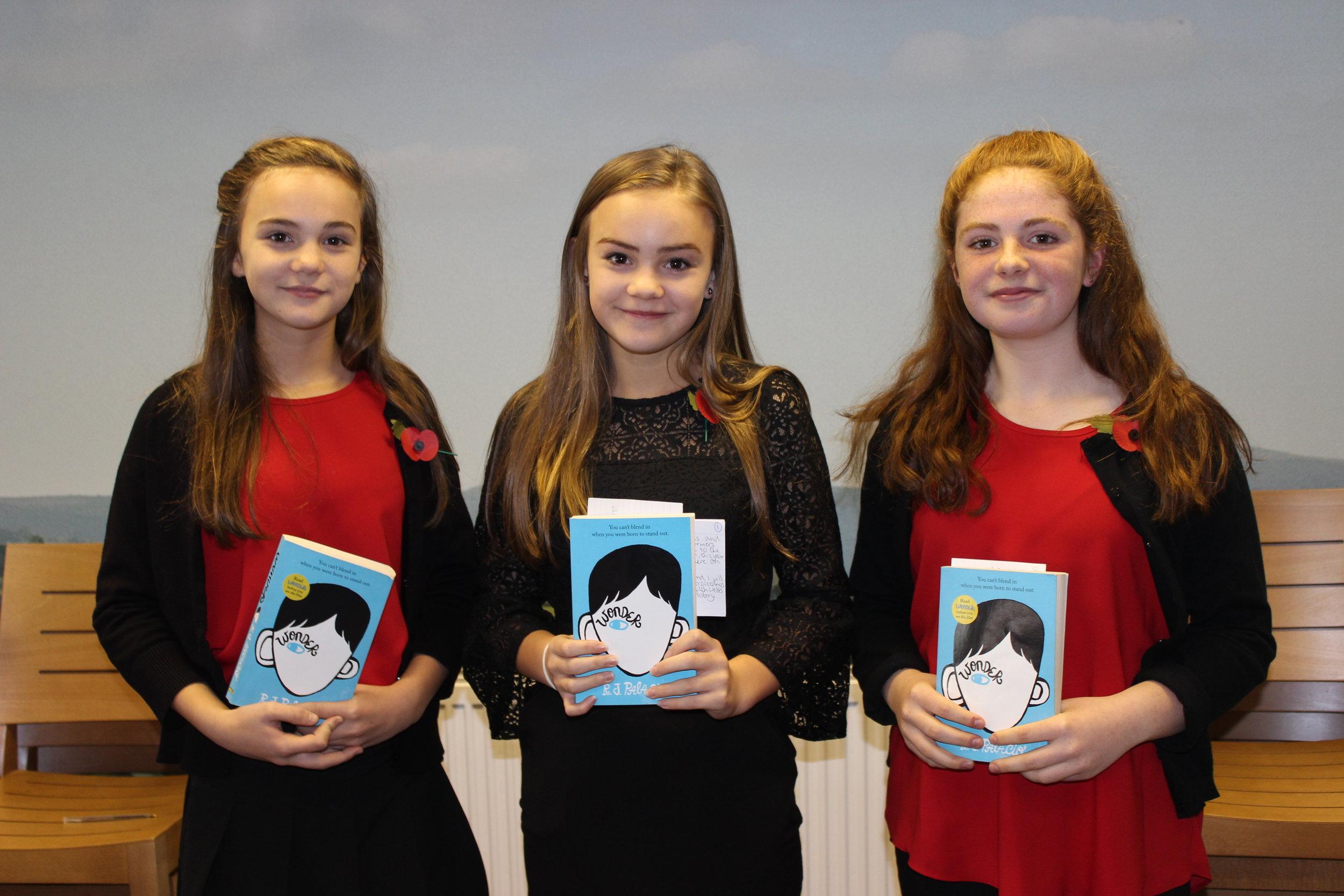 Edw Valley (A) YFC - Katie Hammonds, Bella Hammonds & Carys Moore