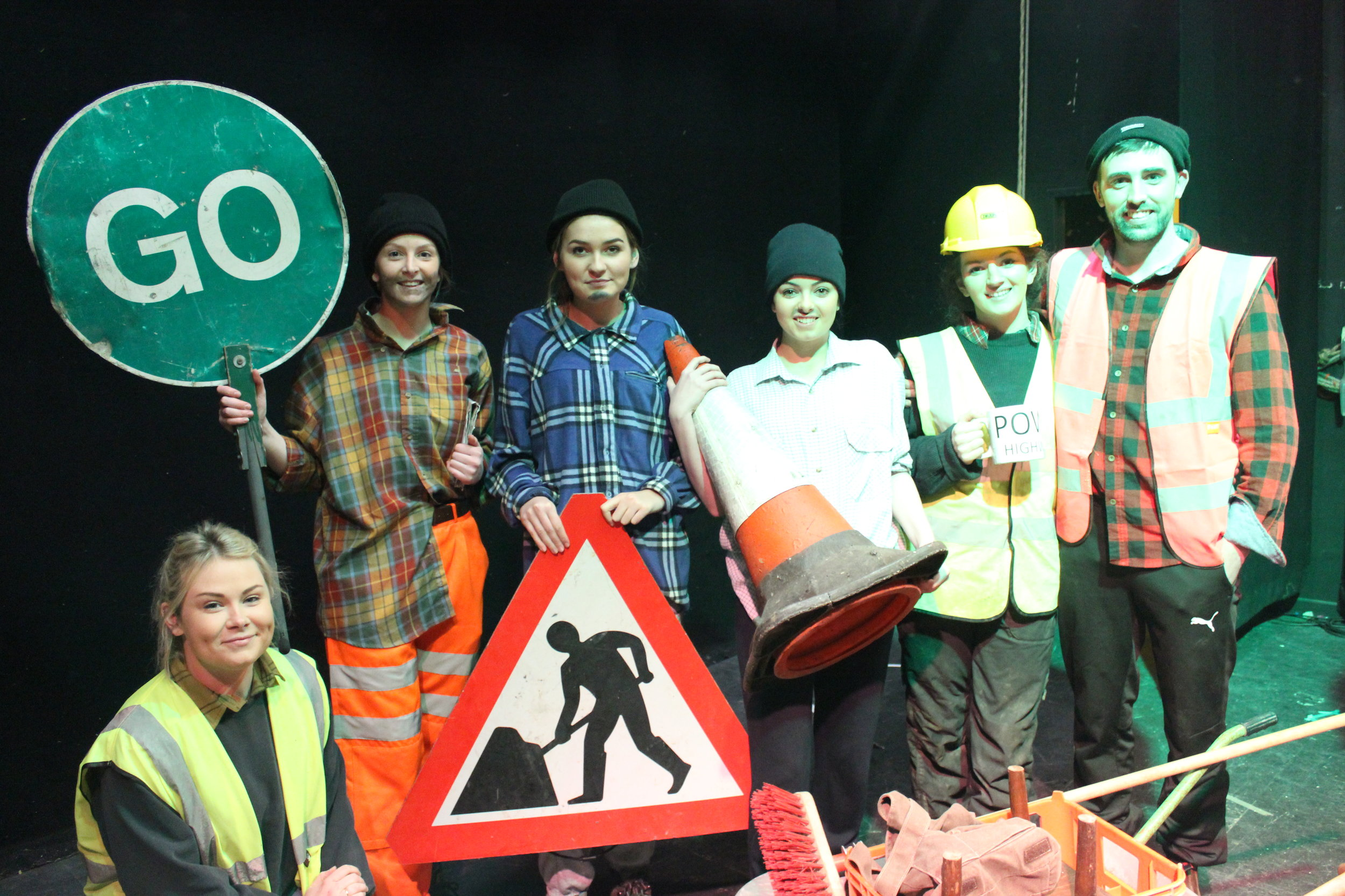 Knighton YFC with their Time to Shine produed by Anne Vogel & Caroline Breeze.