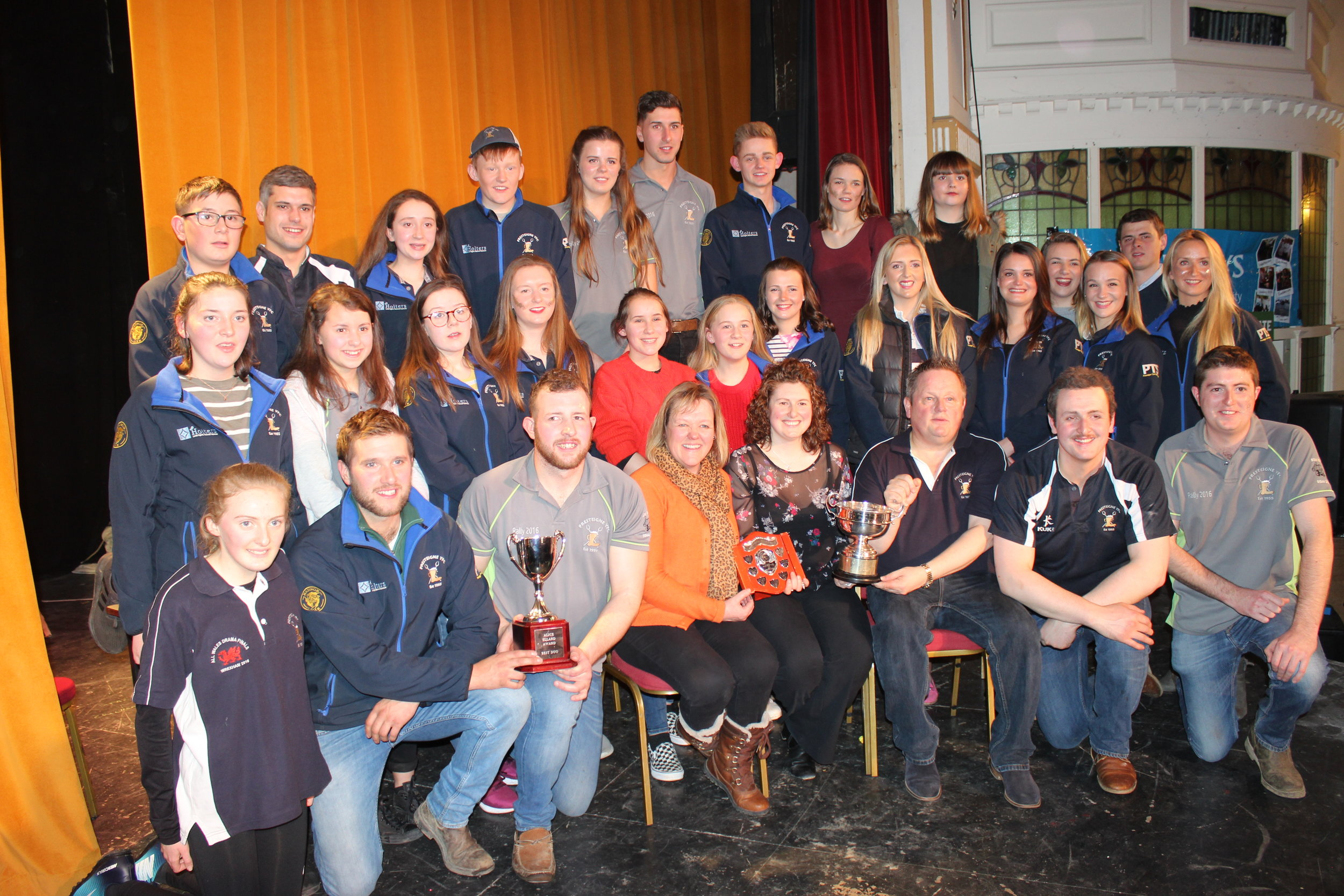 Presteigne YFC winners of the 2018 Pantomime Competition