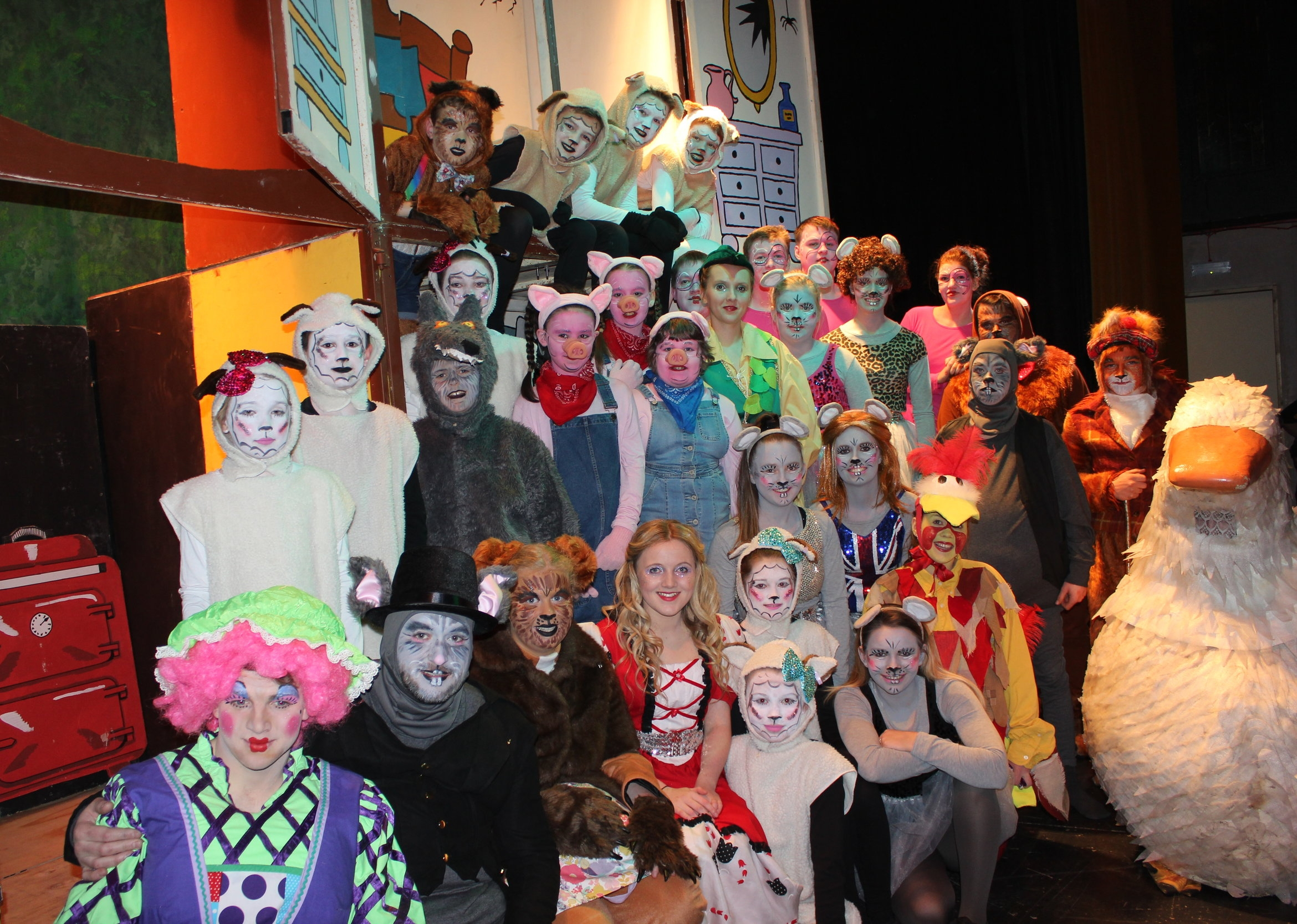 Aberedw YFC with 'There's a Goose on the Loose' -2nd Place Pantomime