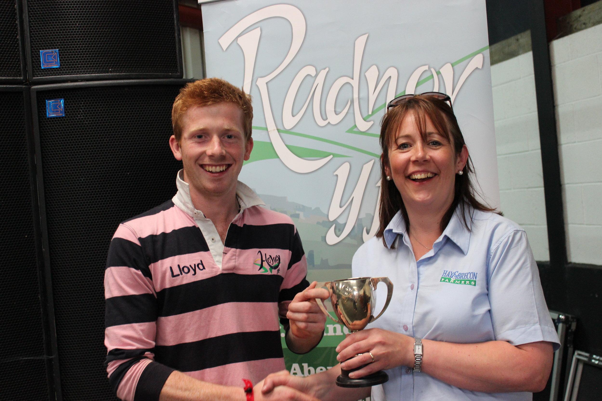 Lloyd Hammond, Howey YFC - West Bromwich Building Society Trophy / Pre Rally Stockjudging Competitions
