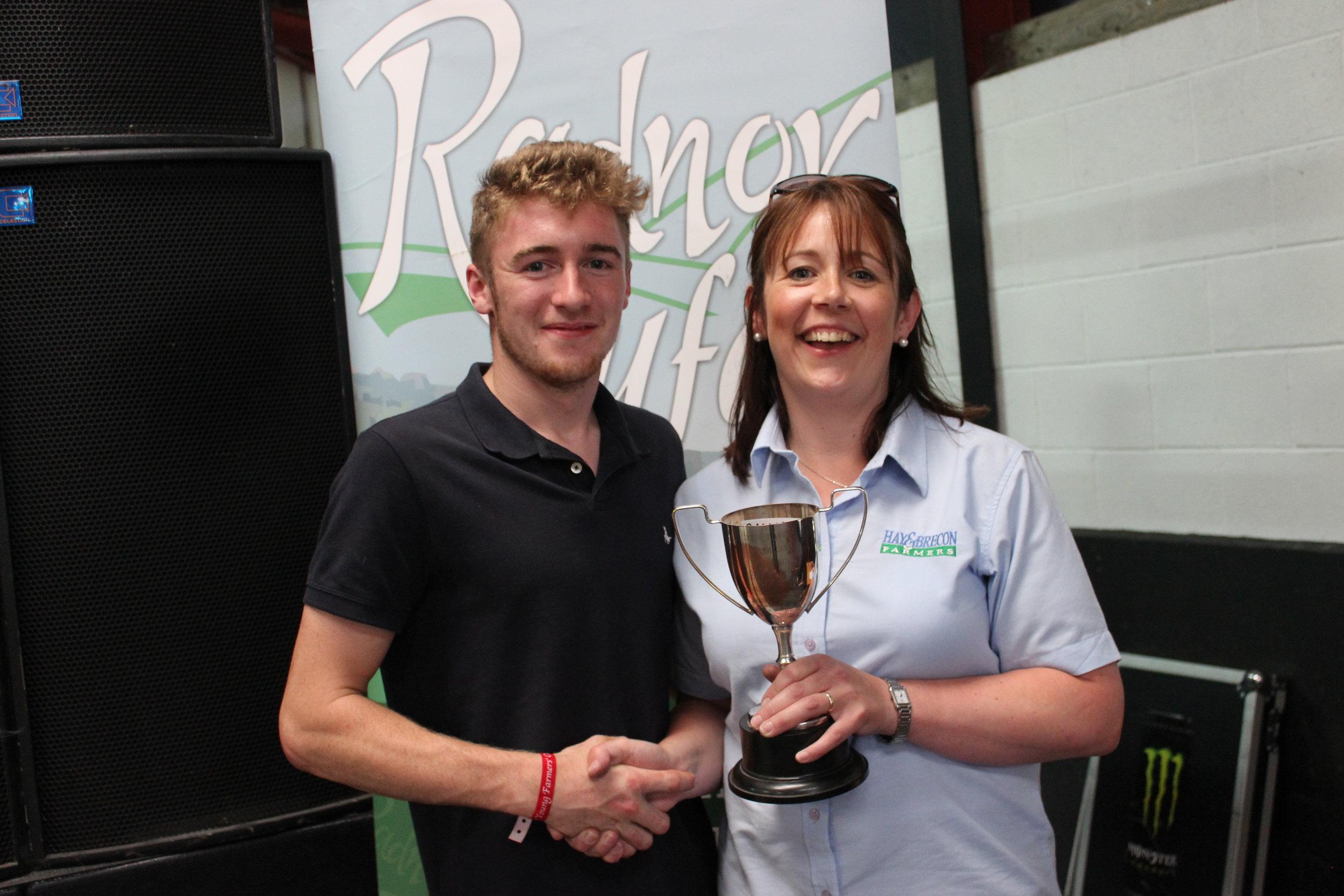 Shuan Fairclough, Howey YFC - Mr J Davies Cup / Intermediate Shearing Competition