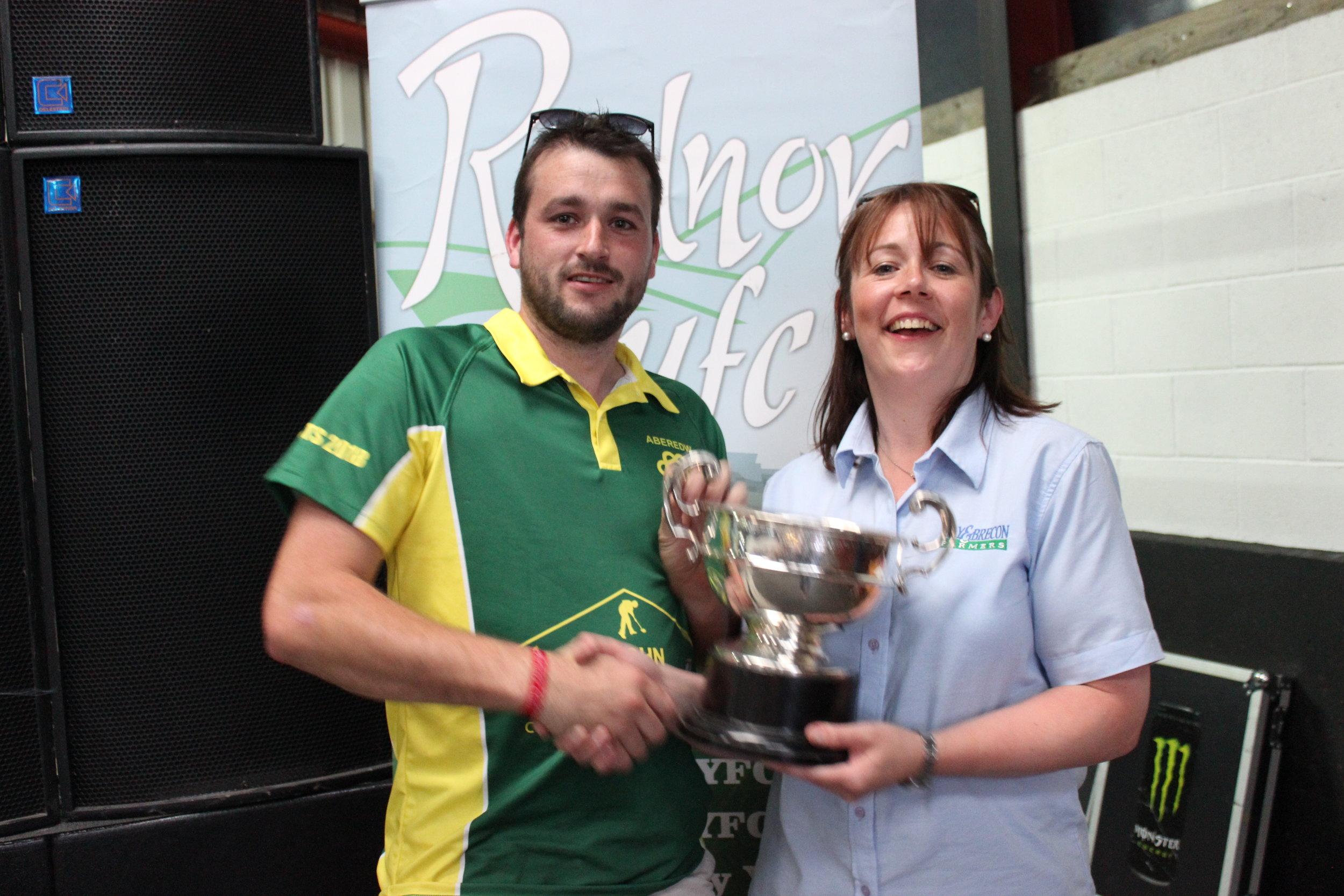 Adam Lewis, Aberedw YFC - Presteigne Agricultural Cup / Second placed Club