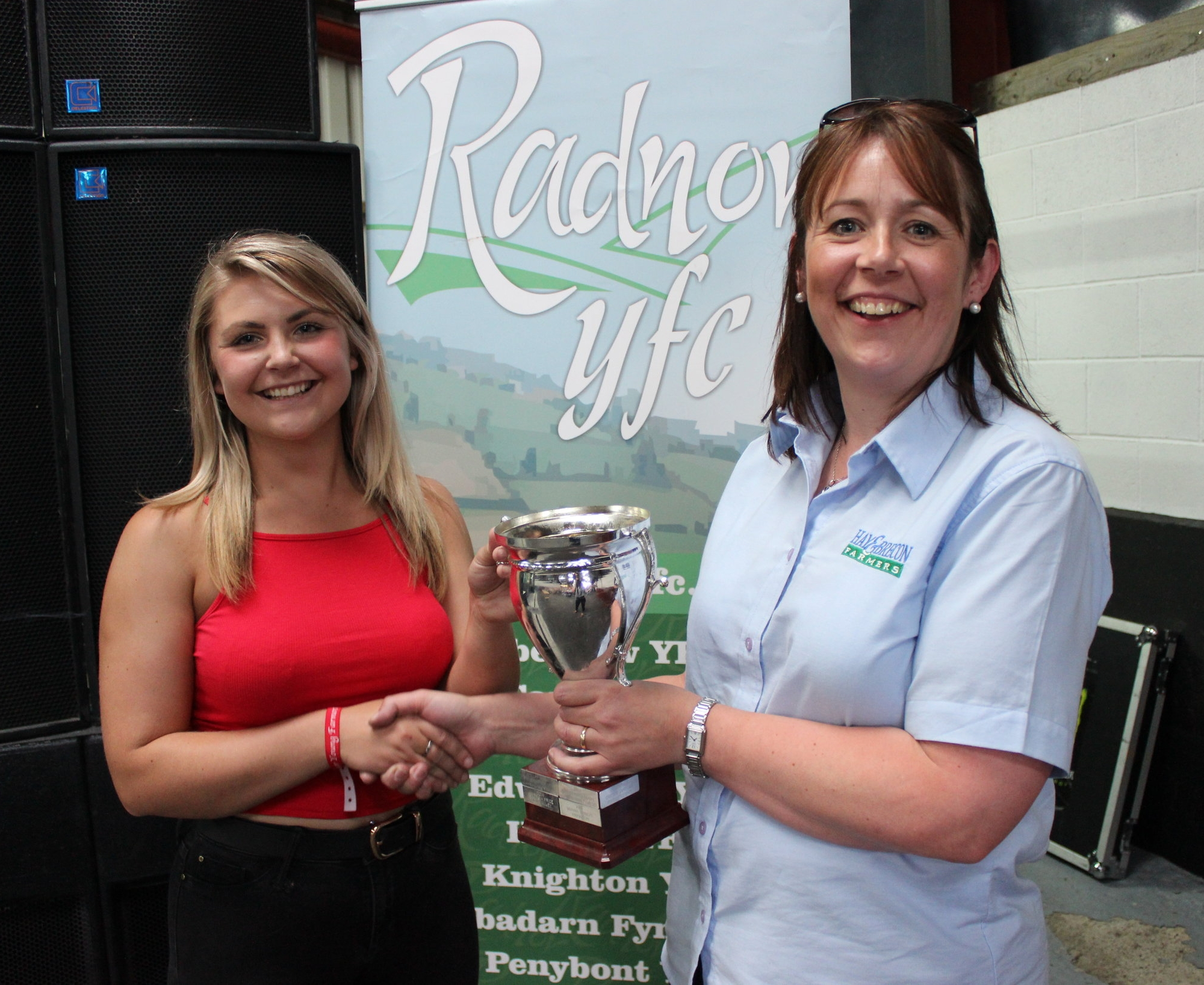 Katie Fairclough, Llanbadarn Fynydd YFC - Andrew & Janet Abberley Cup / Top of the Pops Solo Competition