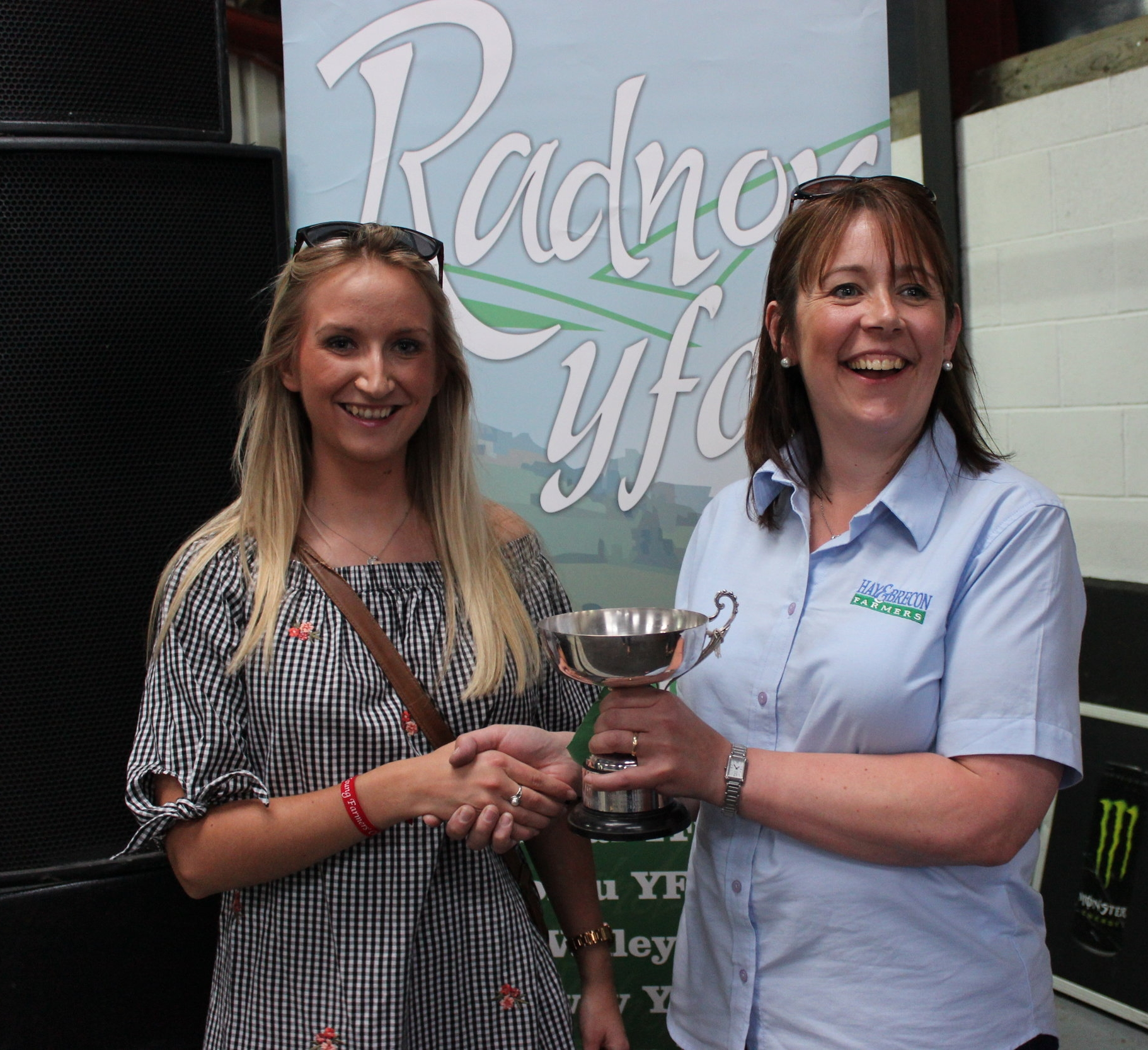 Anna Rogers, Presteigne YFC - Glenda Lawrence Cup / Pre Rally Promotional Sign Competition
