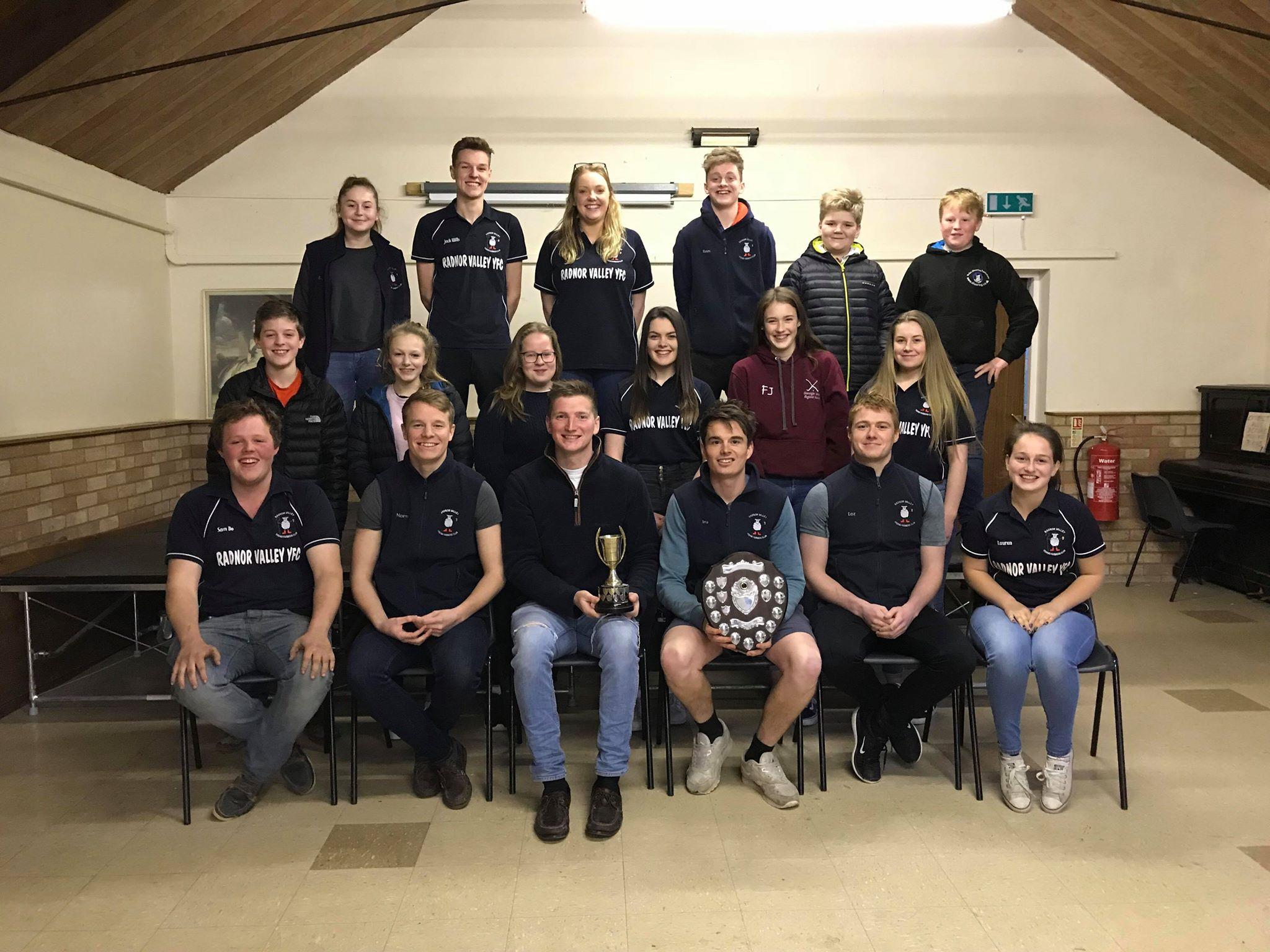 Last year's Field Day winners: Radnor Valley YFC
