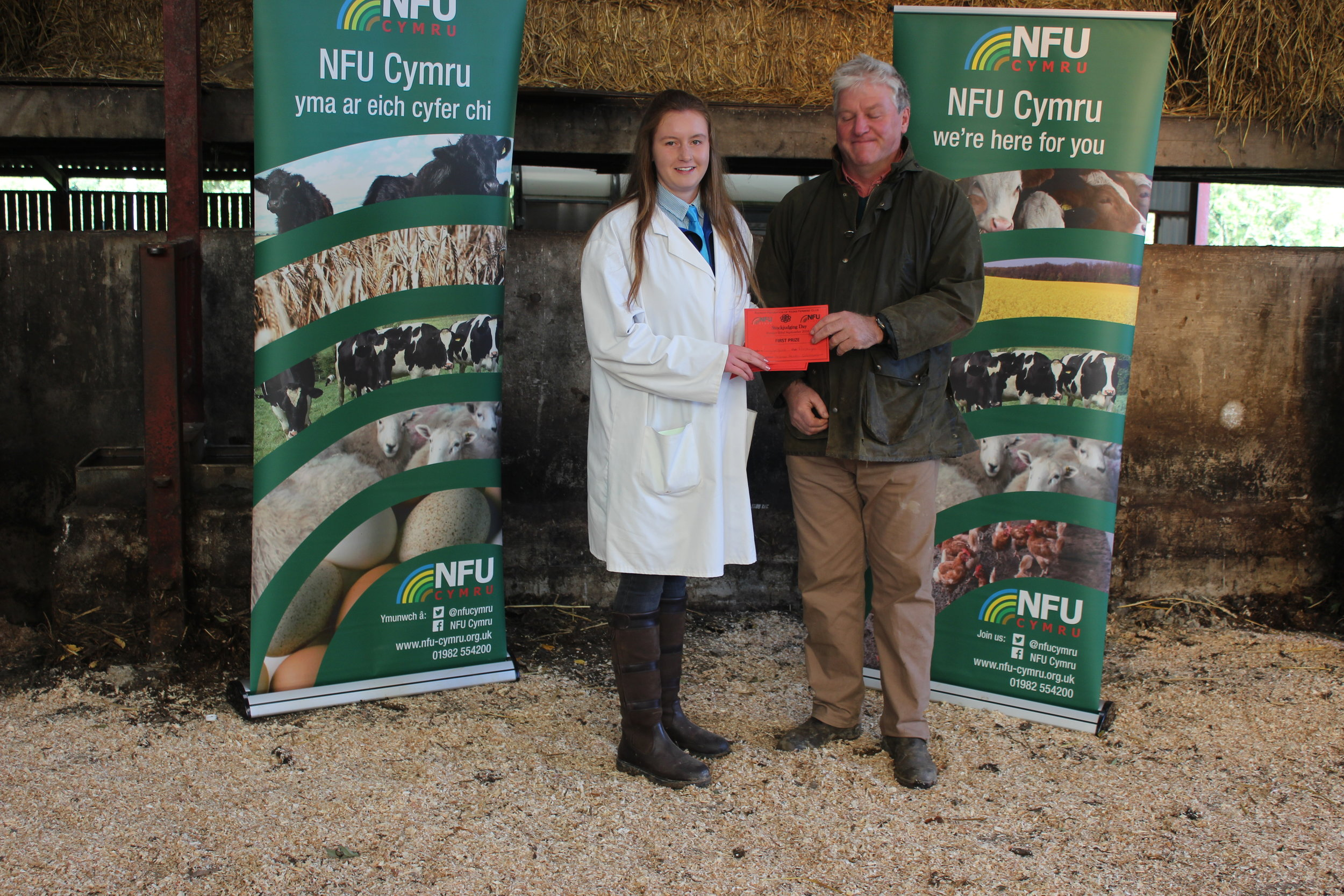 Lucy Griffiths, Presteigne YFC - Junior Animal Health Questionnaire
