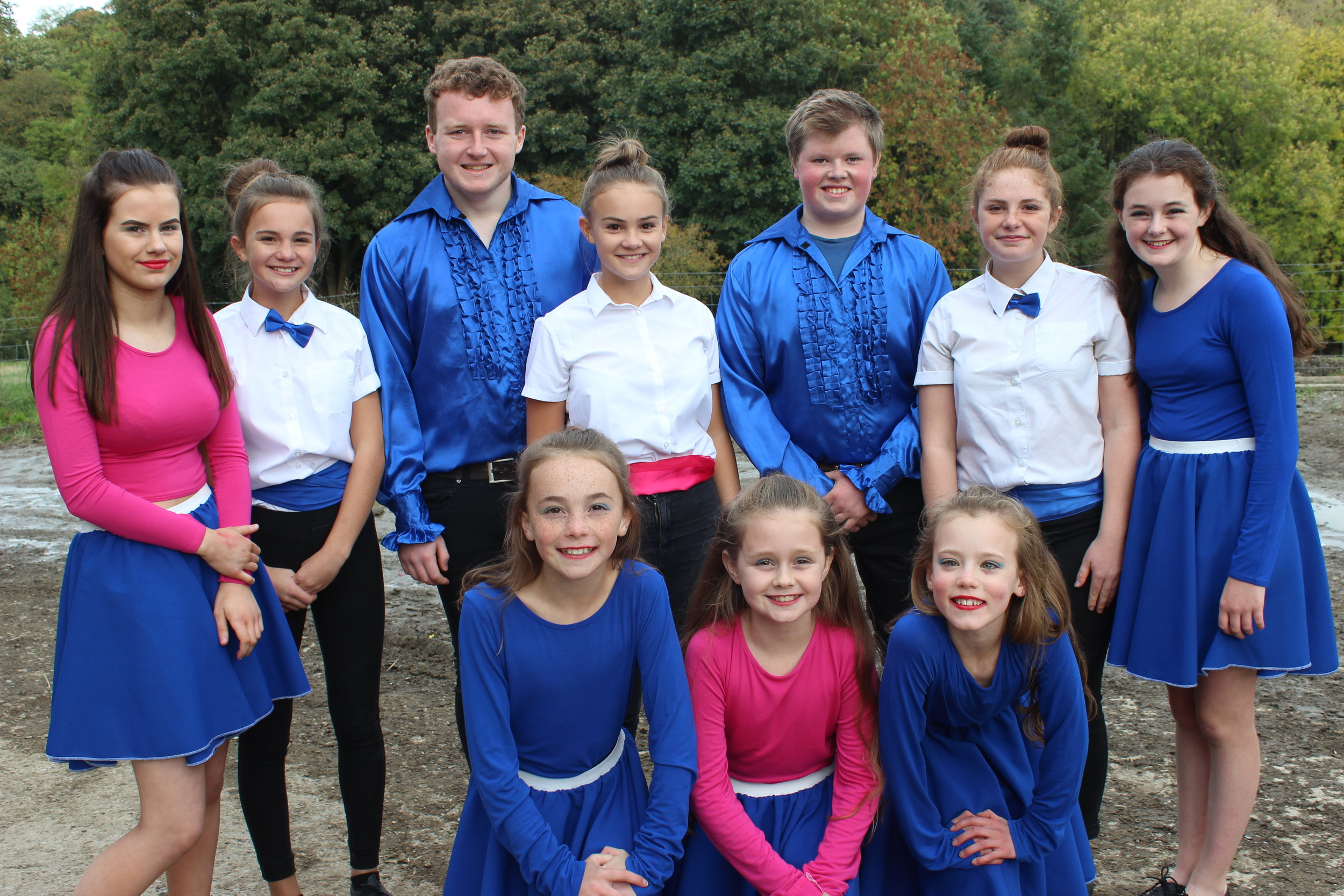 Edw Valley YFC, first place in the Ballroom Dancing competition.