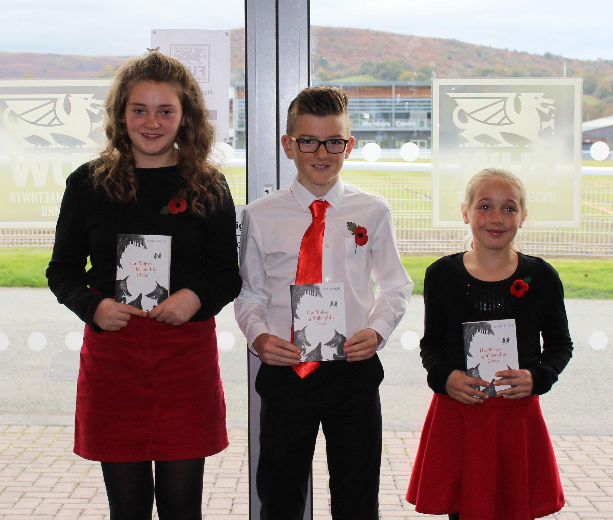 Aberedw YFC - Katie Jones, Thomas Edwards & Seren Cook