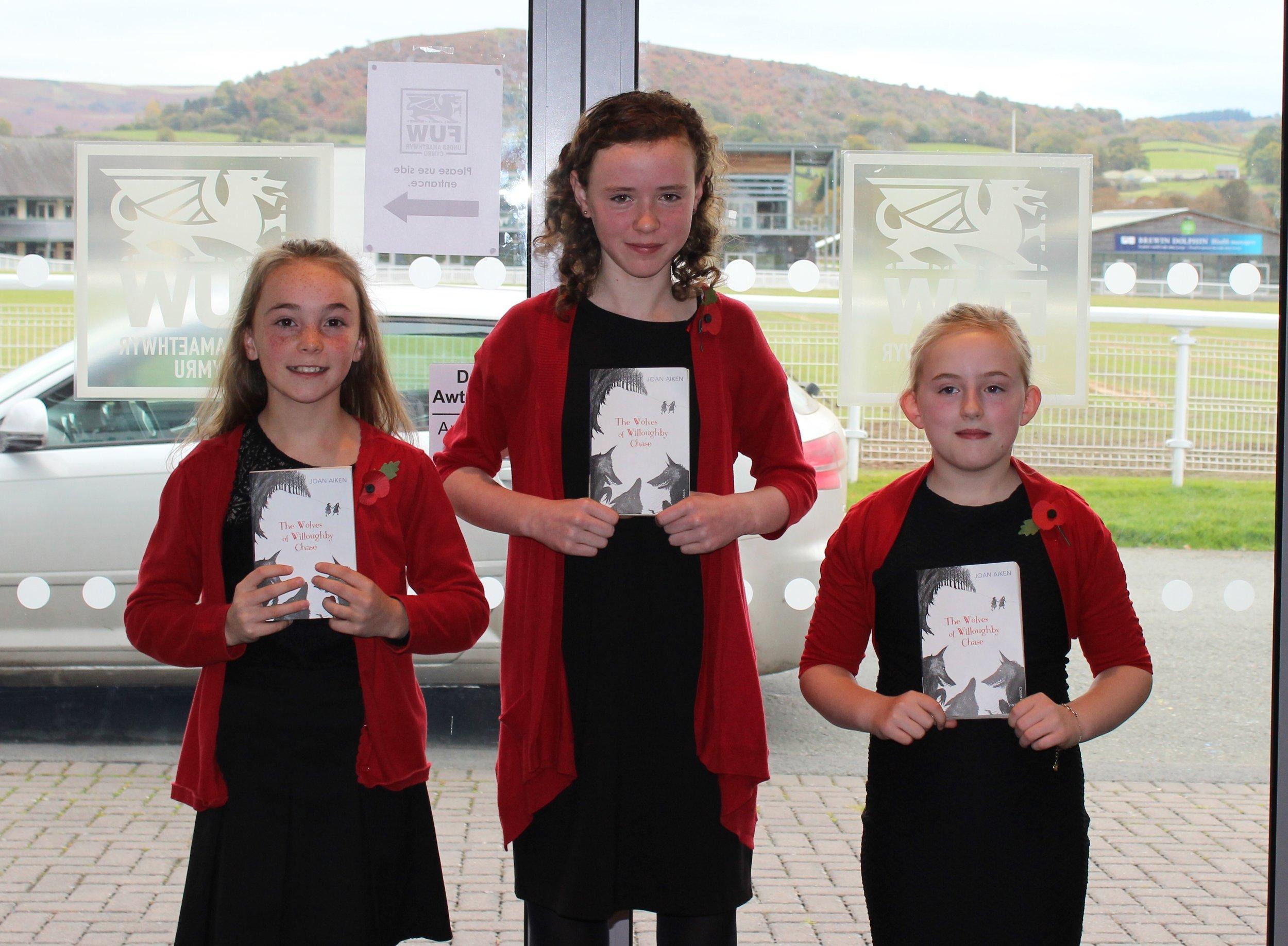 Edw Valley (B) YFC - Bella Hammonds, Cerys Powell & Mollie Price