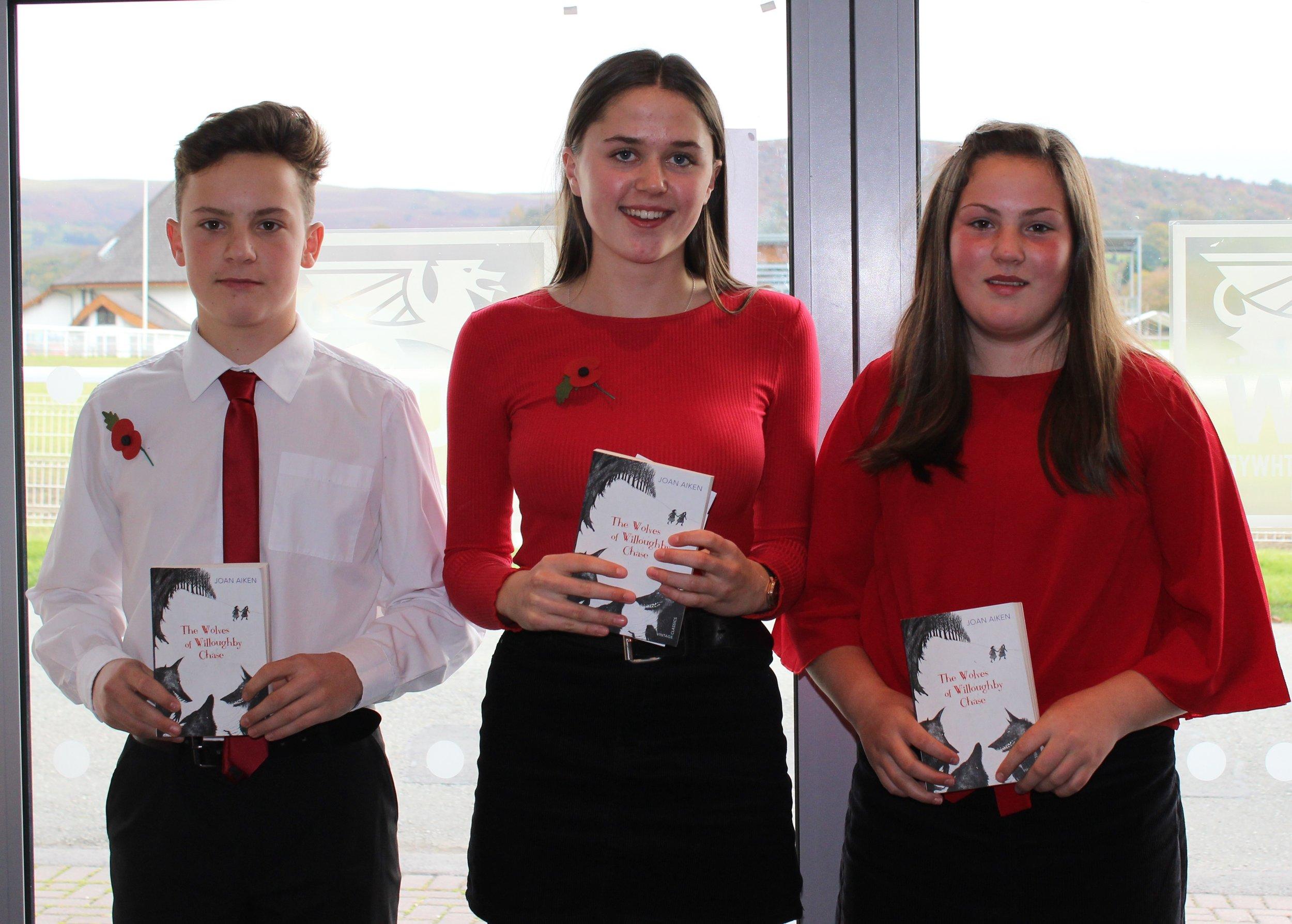 Rhayader YFC - Eifion Davies, Jeana Jones & Eleri Davies