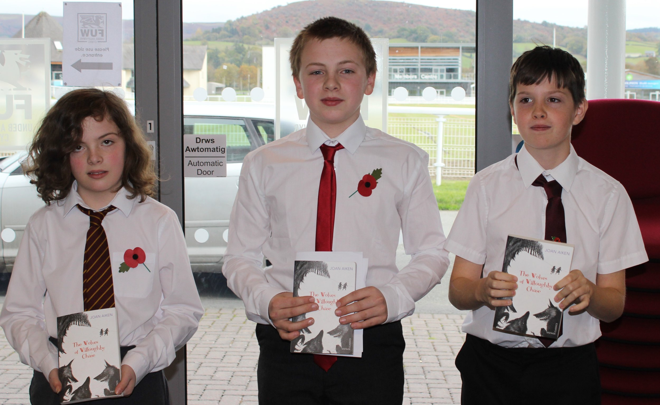 Radnor Valley YFC - Ruth Hammond, Rees Powell & Gareth Evans