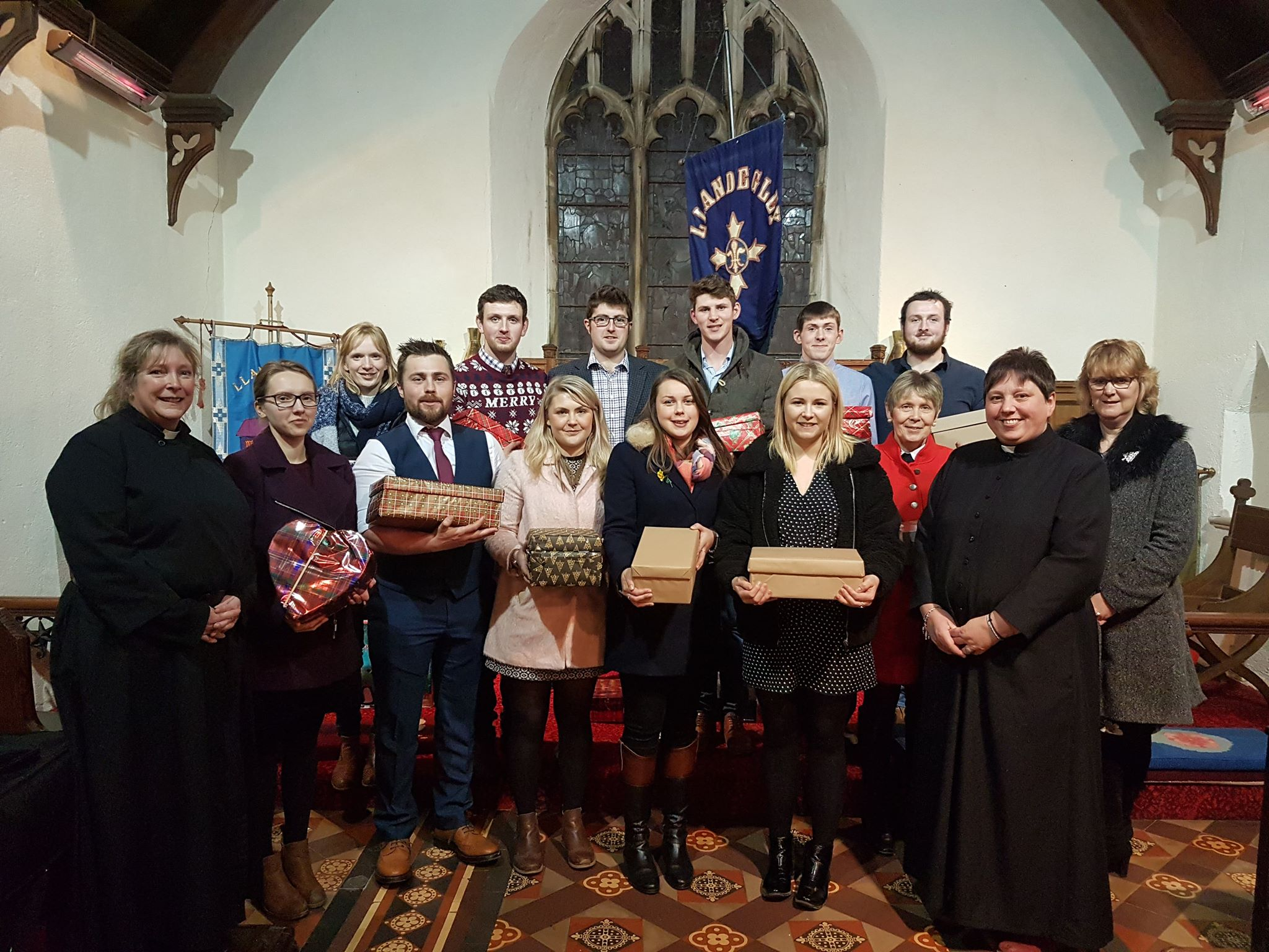 Club Officials at the County Carol Service