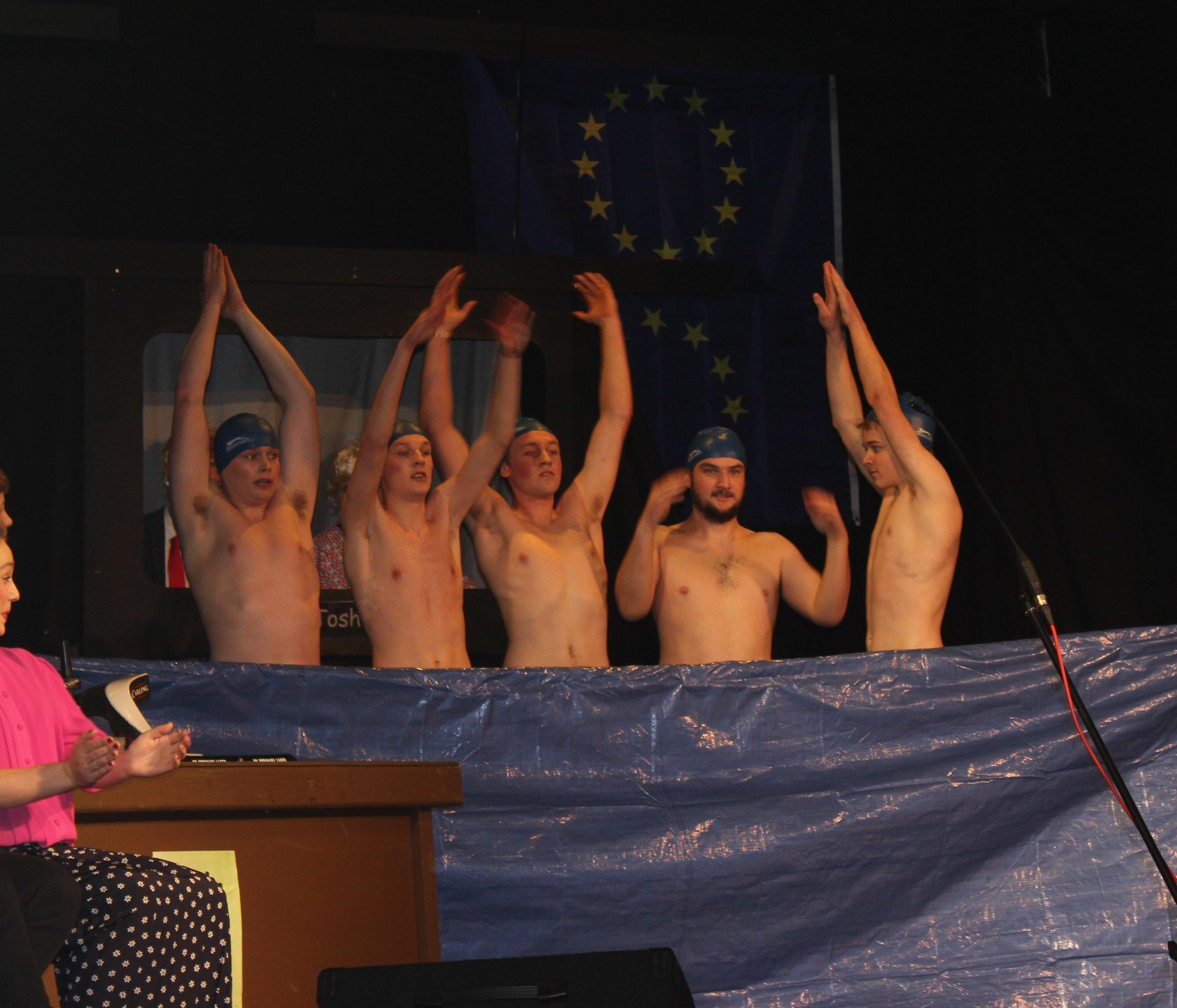 Radnor Valley's Synchronized Swimming Team