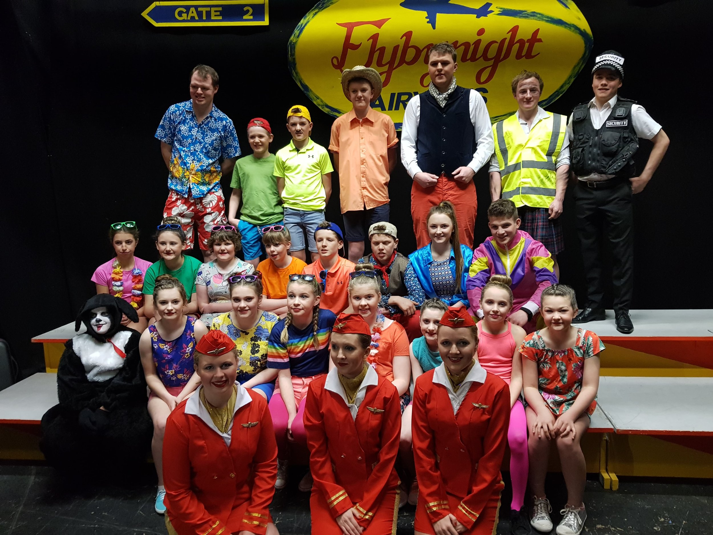 Aberedw YFC - 'Flybynight Airways'