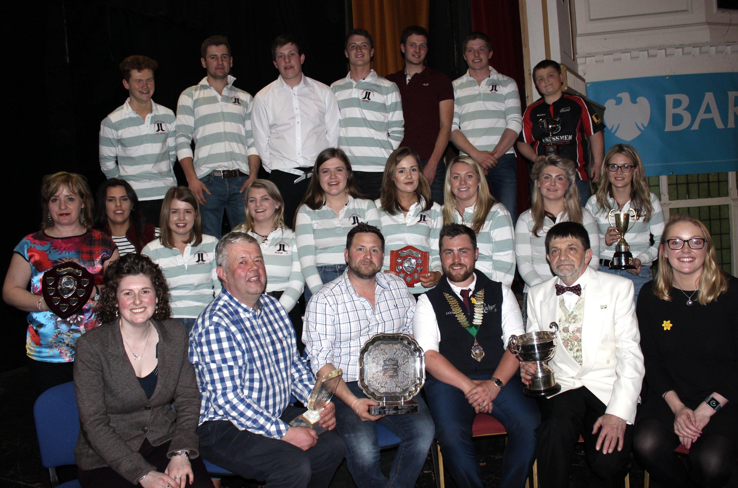 Llanbadarn Fynydd YFC - Winners of the Entertainment Competition 2019.