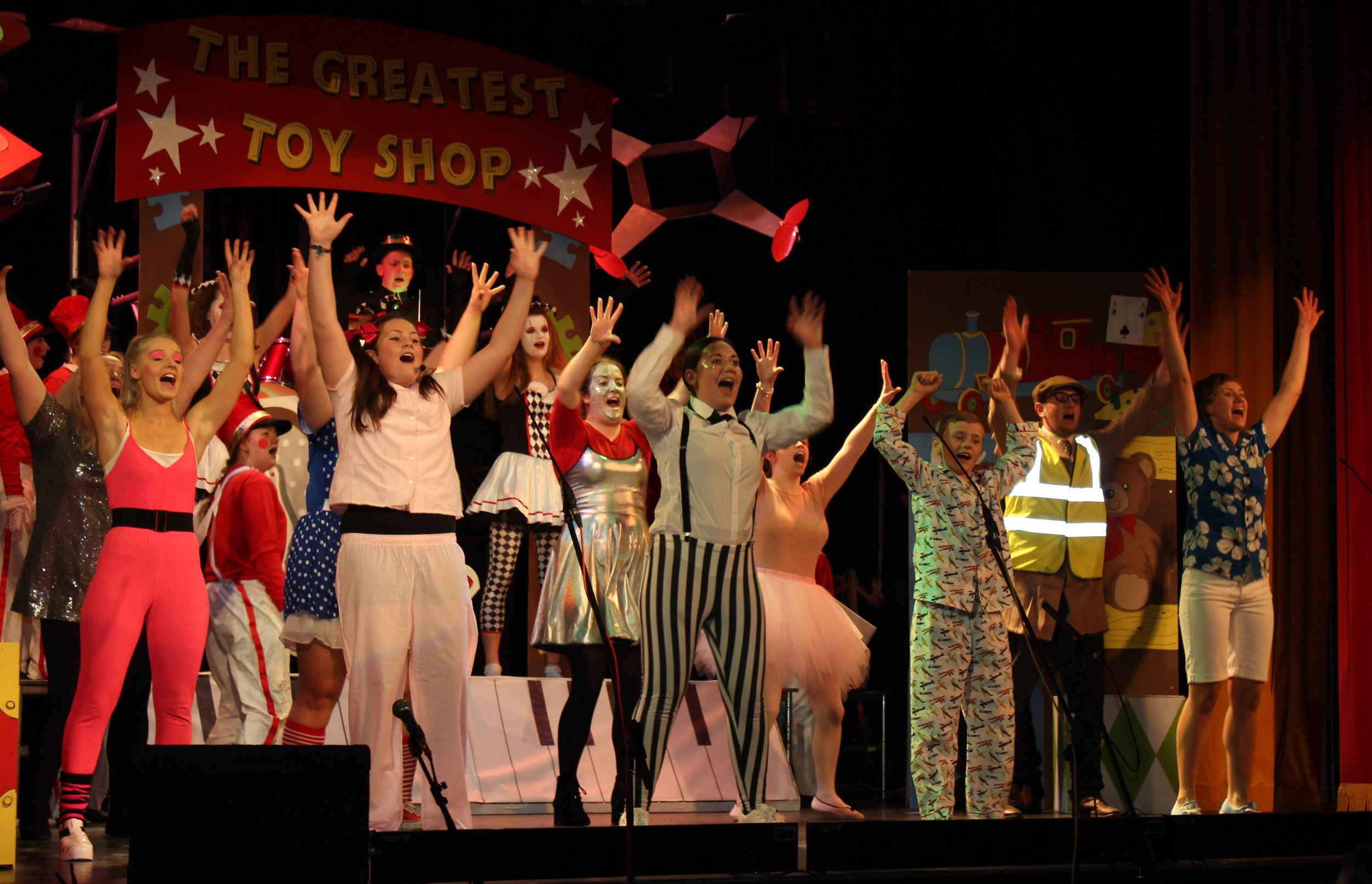 3rd Place - Rhayader YFC with their production 'The Greatest Toy Shop'.
