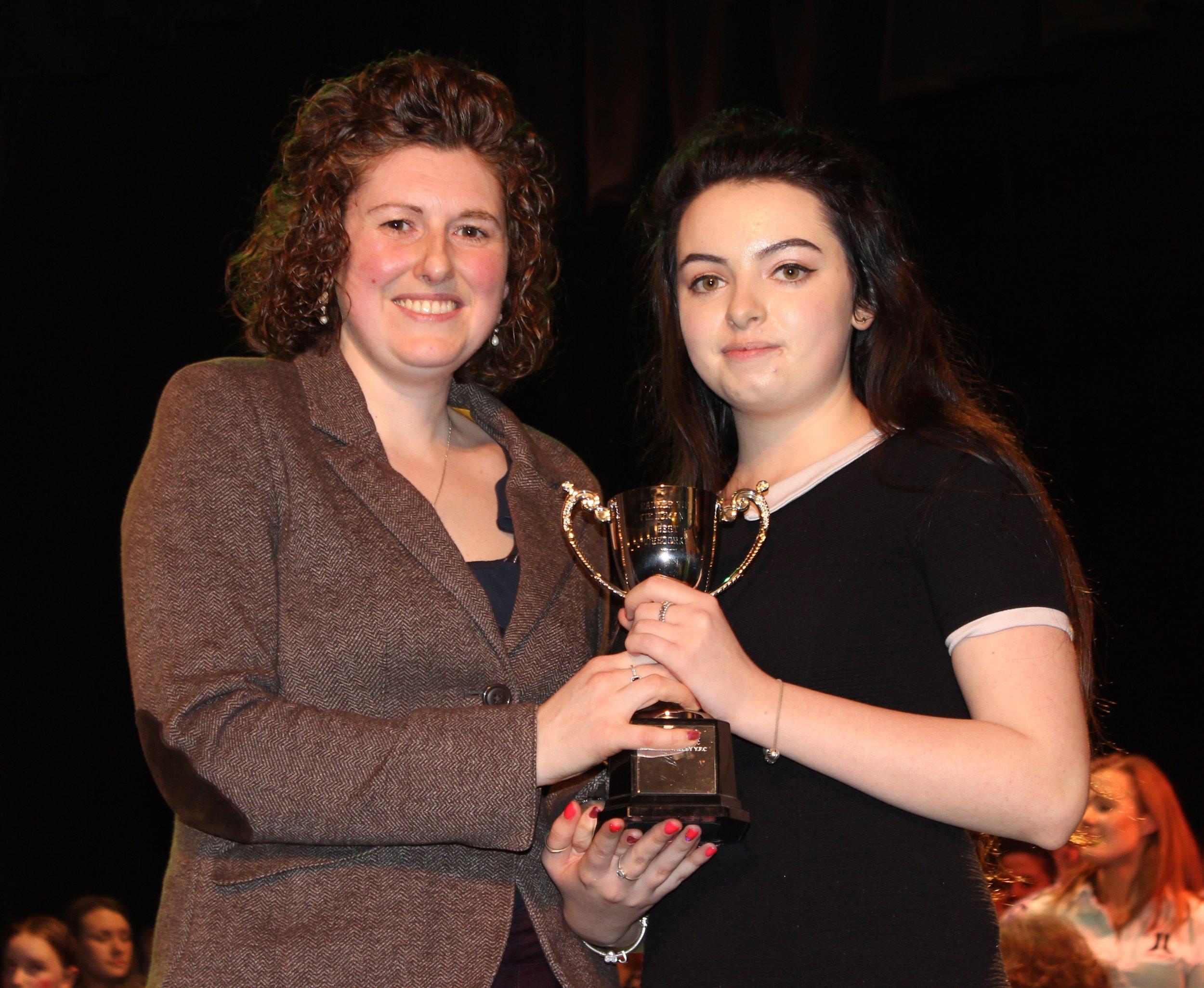 Jess Morgan, Knighton YFC - Evie Doman Cup for Best Choreography.