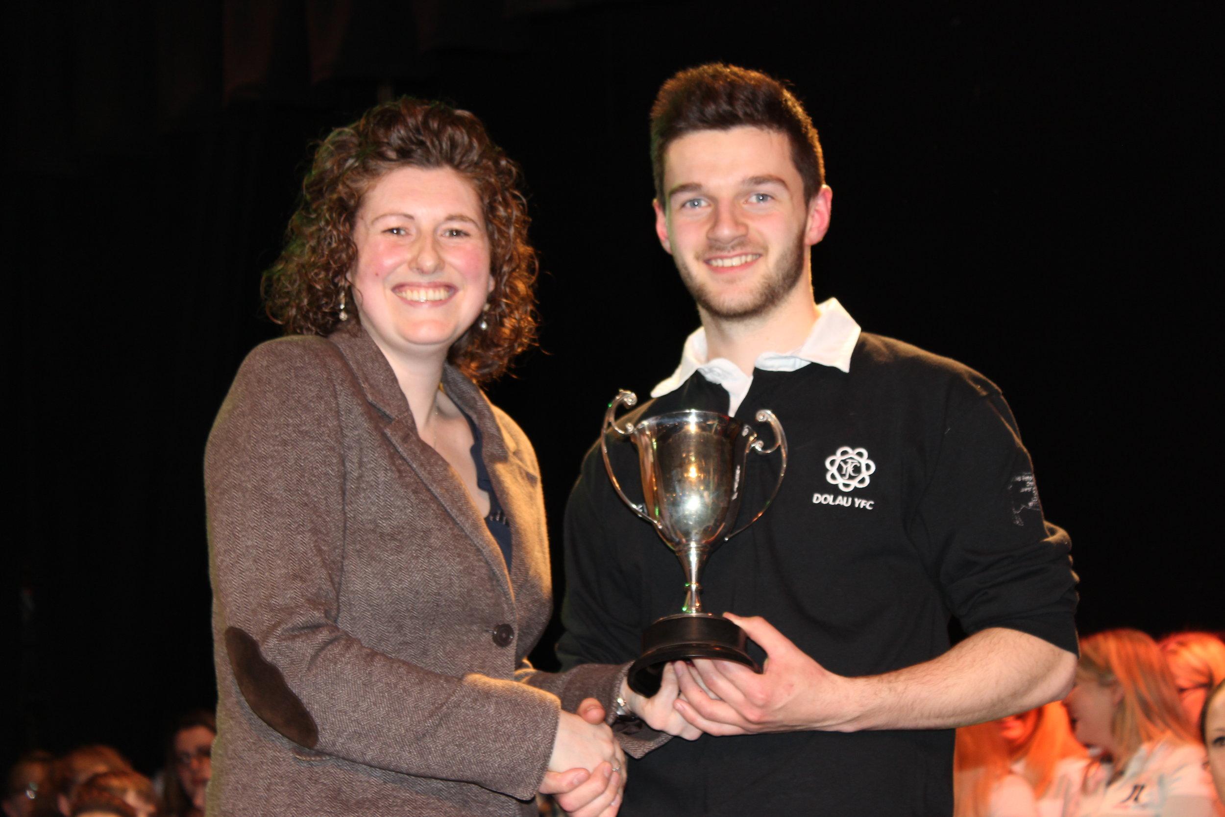 Elliot Watkins, Dolau YFC - Watson Cup for Best Musician.