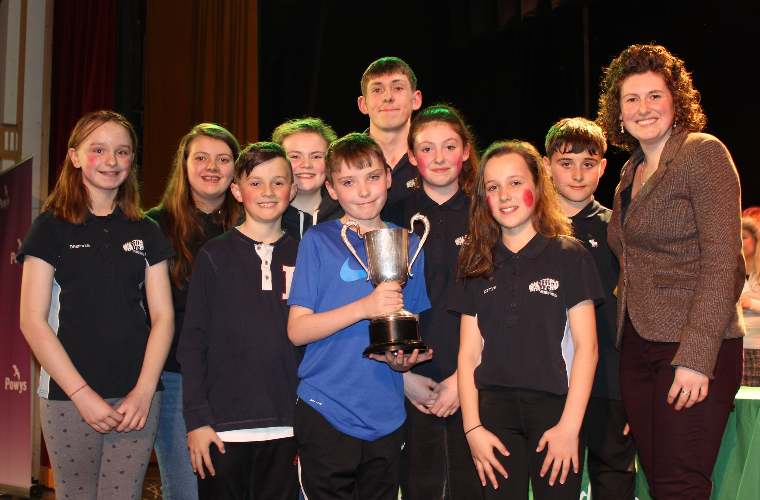 Rhayader YFC - Estyn Meredith MBE Perpetual Trophy for Best Sketch/Group within a Performance.