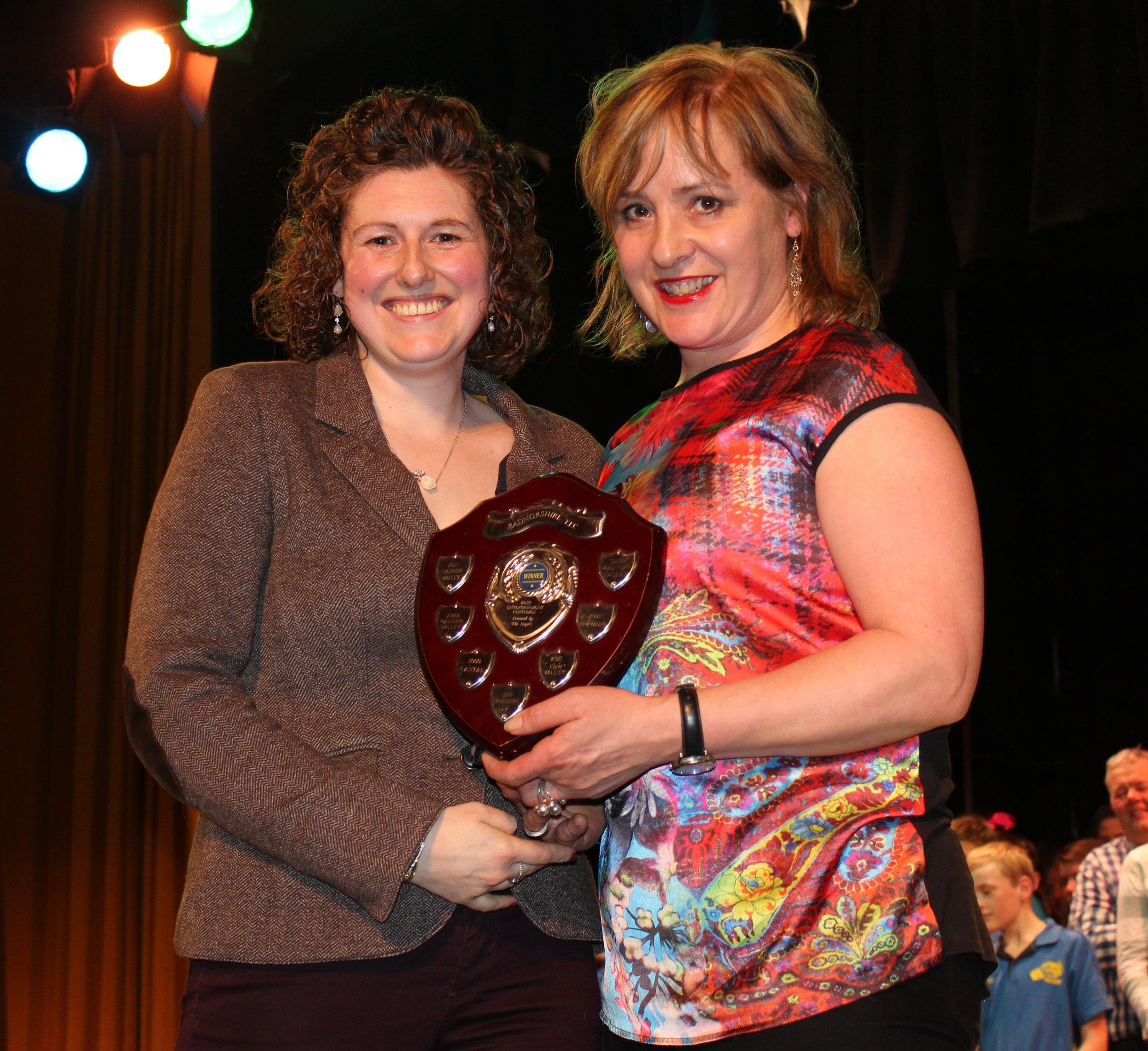 Carole Morgan, Llanbadarn Fynydd YFC - The Hope Family Shield for Best Costume.